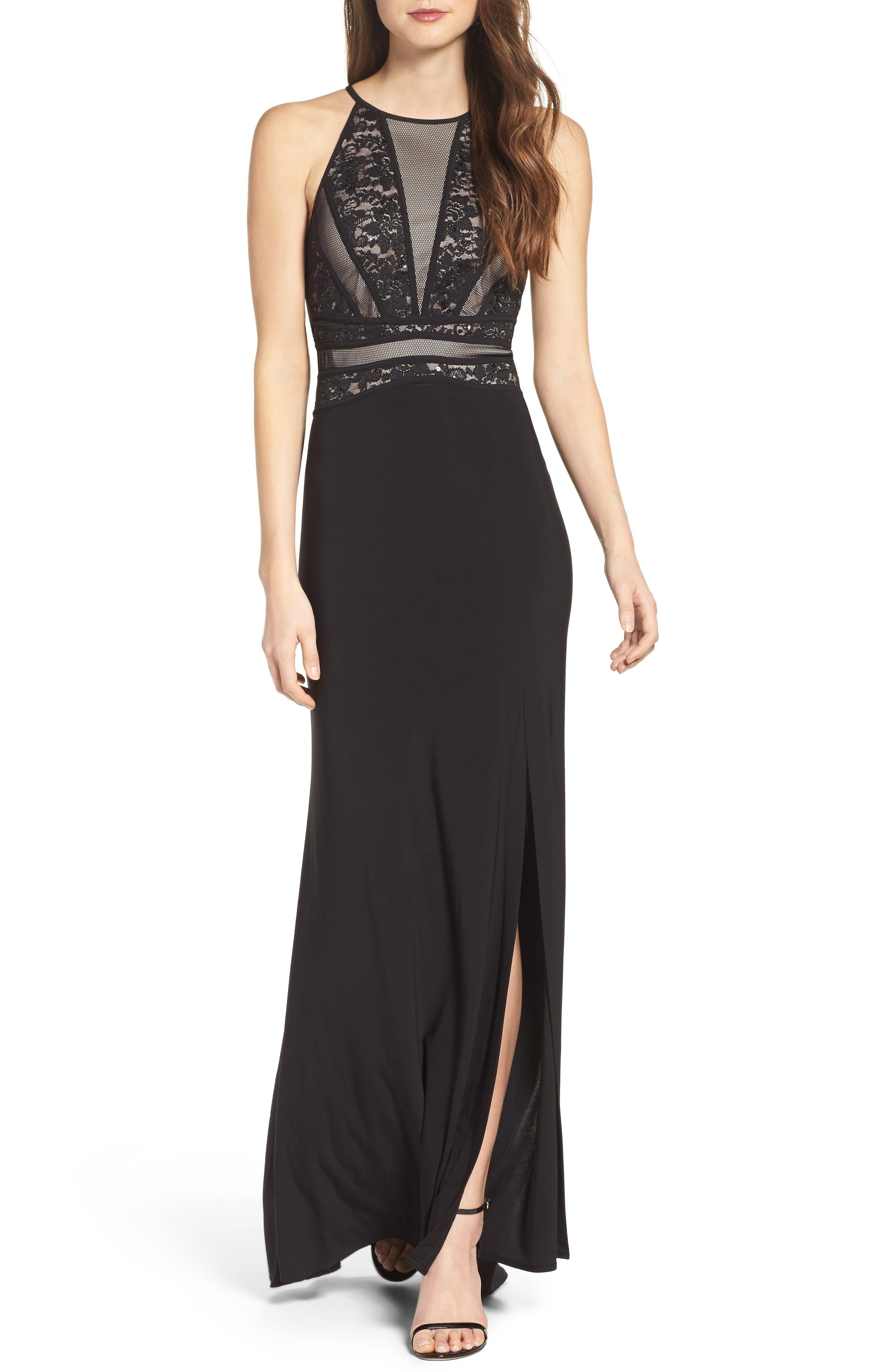 Main Image - Morgan & Co. Embellished Gown