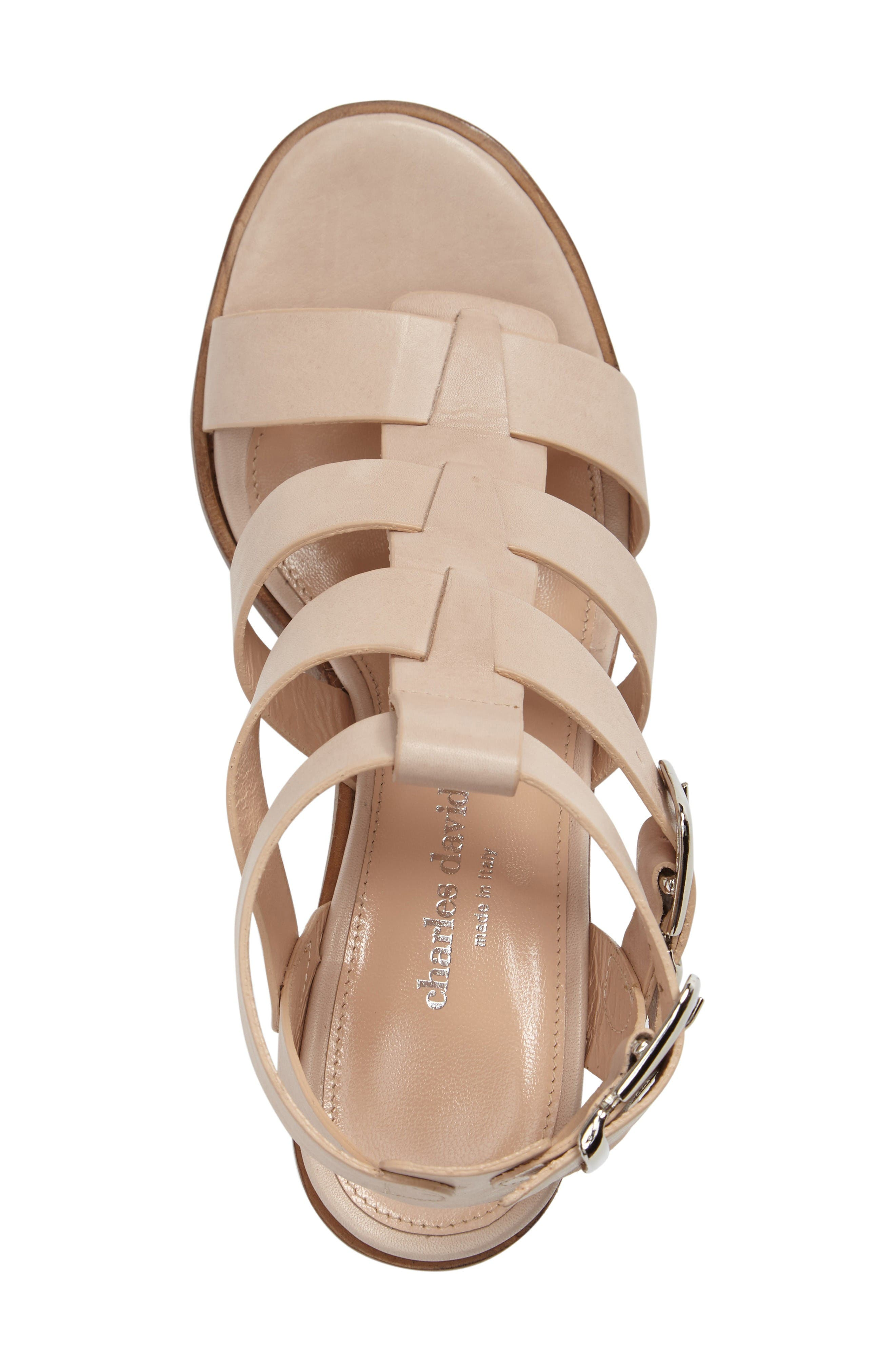 Alternate Image 3  - Charles David Bronson Block Heel Sandal (Women)
