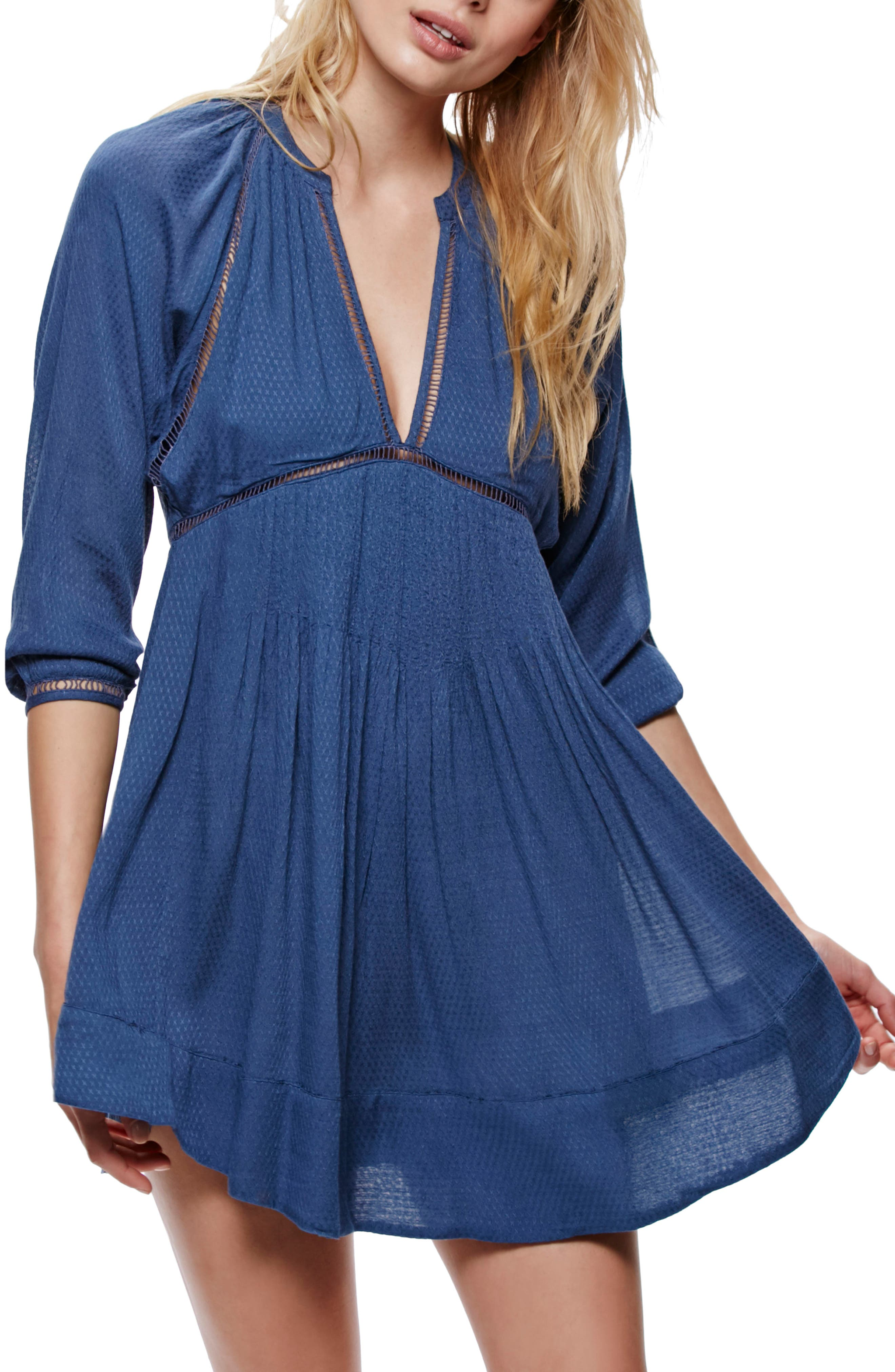 Main Image - Free People Go Lightly Swing Dress