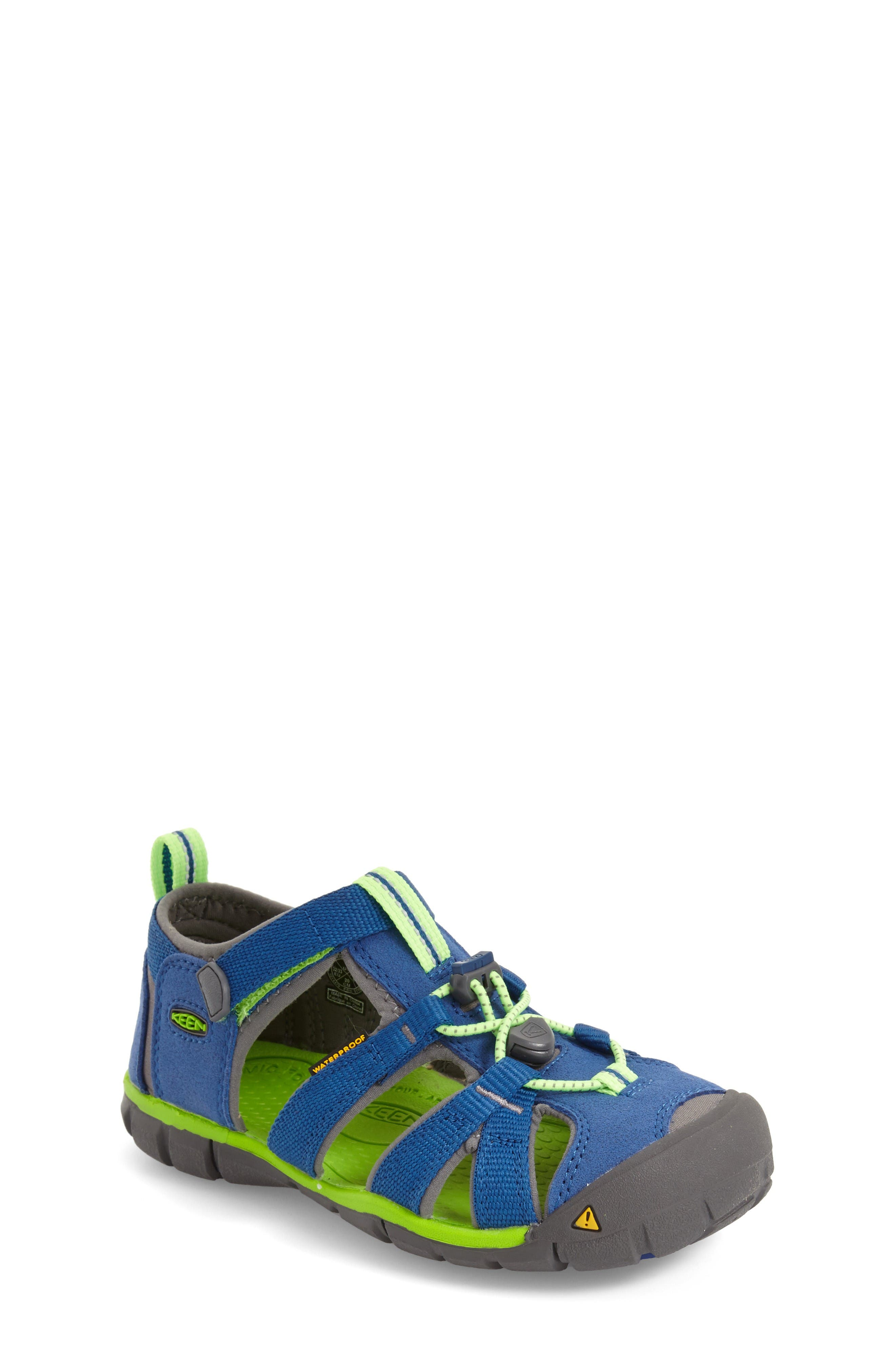Alternate Image 1 Selected - Keen Seacamp II Water Friendly Sandal (Baby, Walker, Toddler, Little Kid & Big Kid)