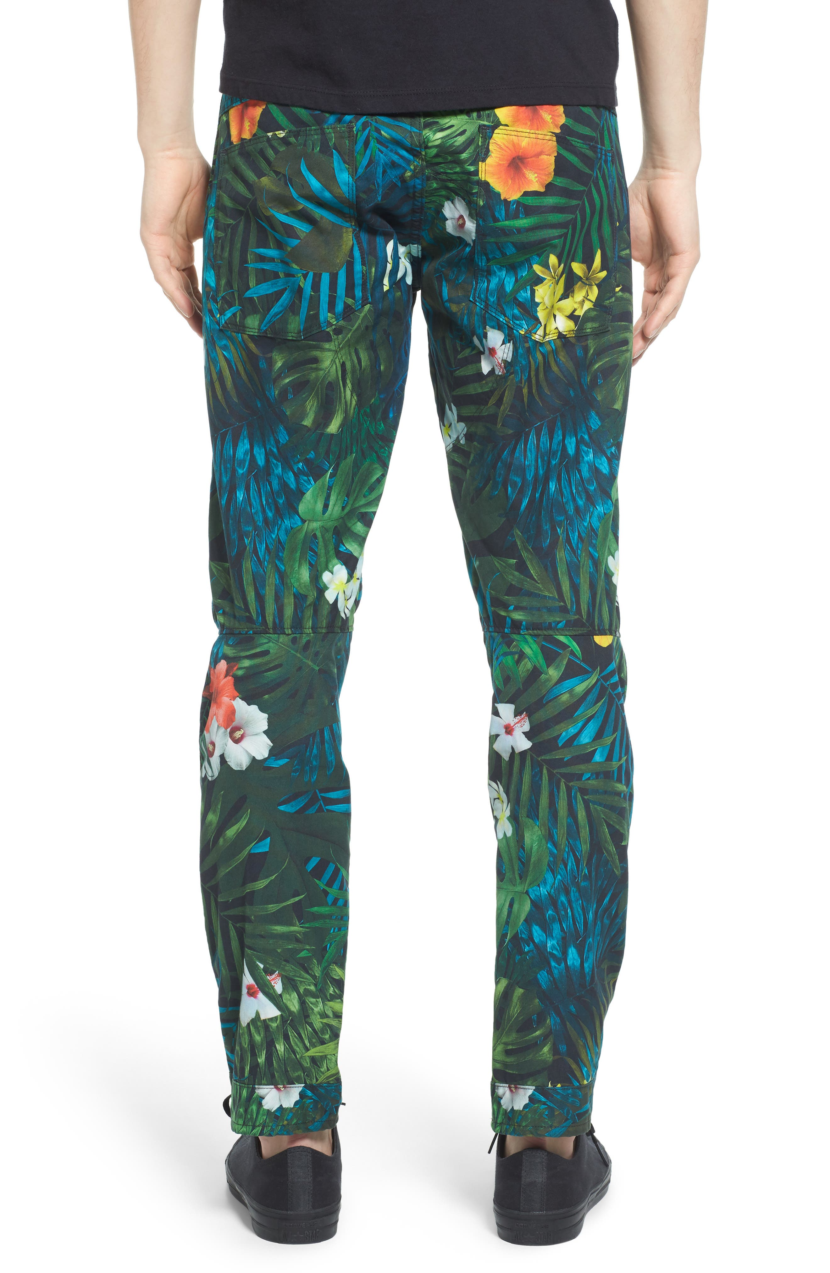 Alternate Image 2  - G-Star Raw Elwood X25 Slim Fit Aloha Print Pants
