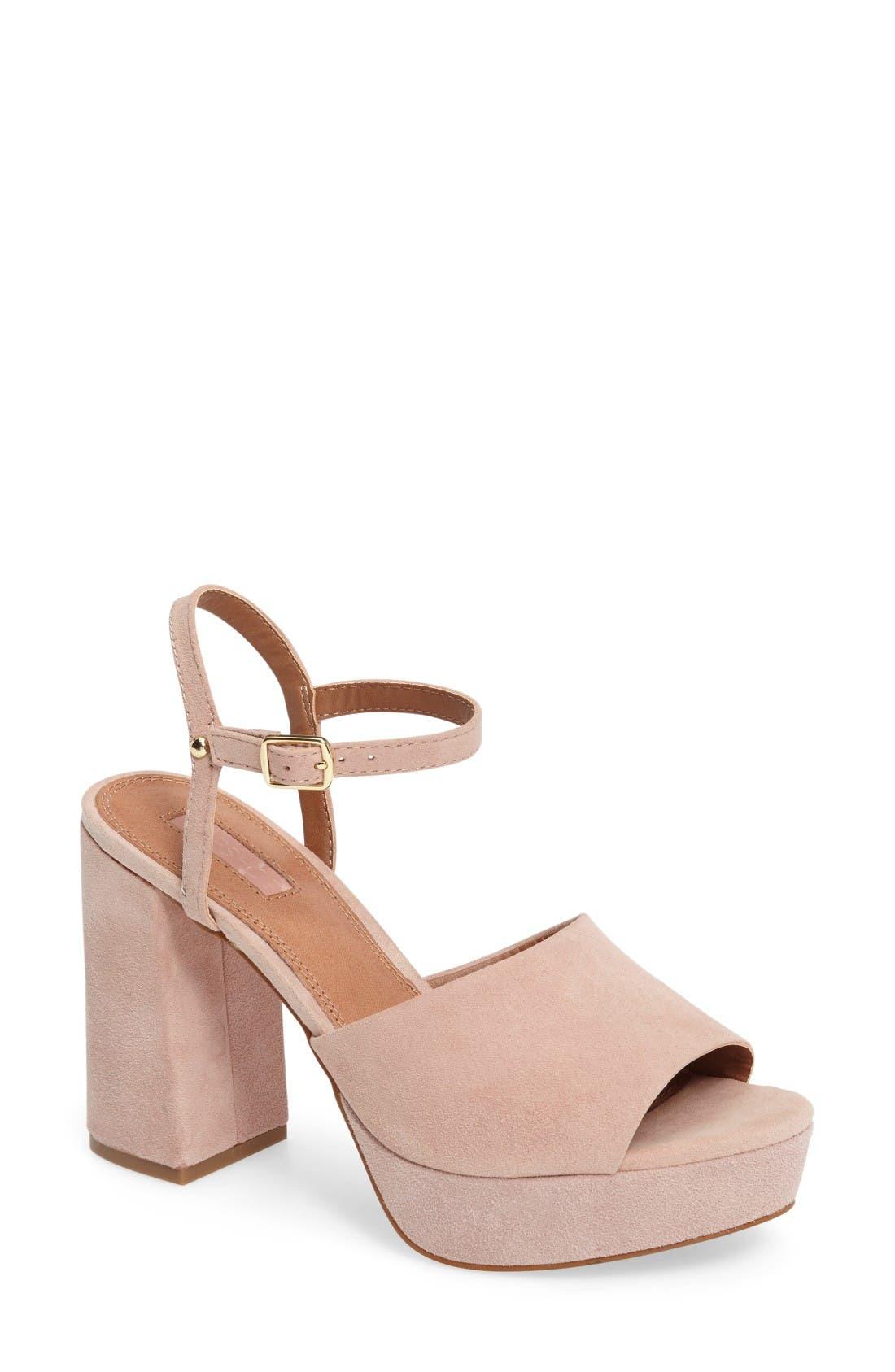 Topshop Lava Platform Sandal (Women)