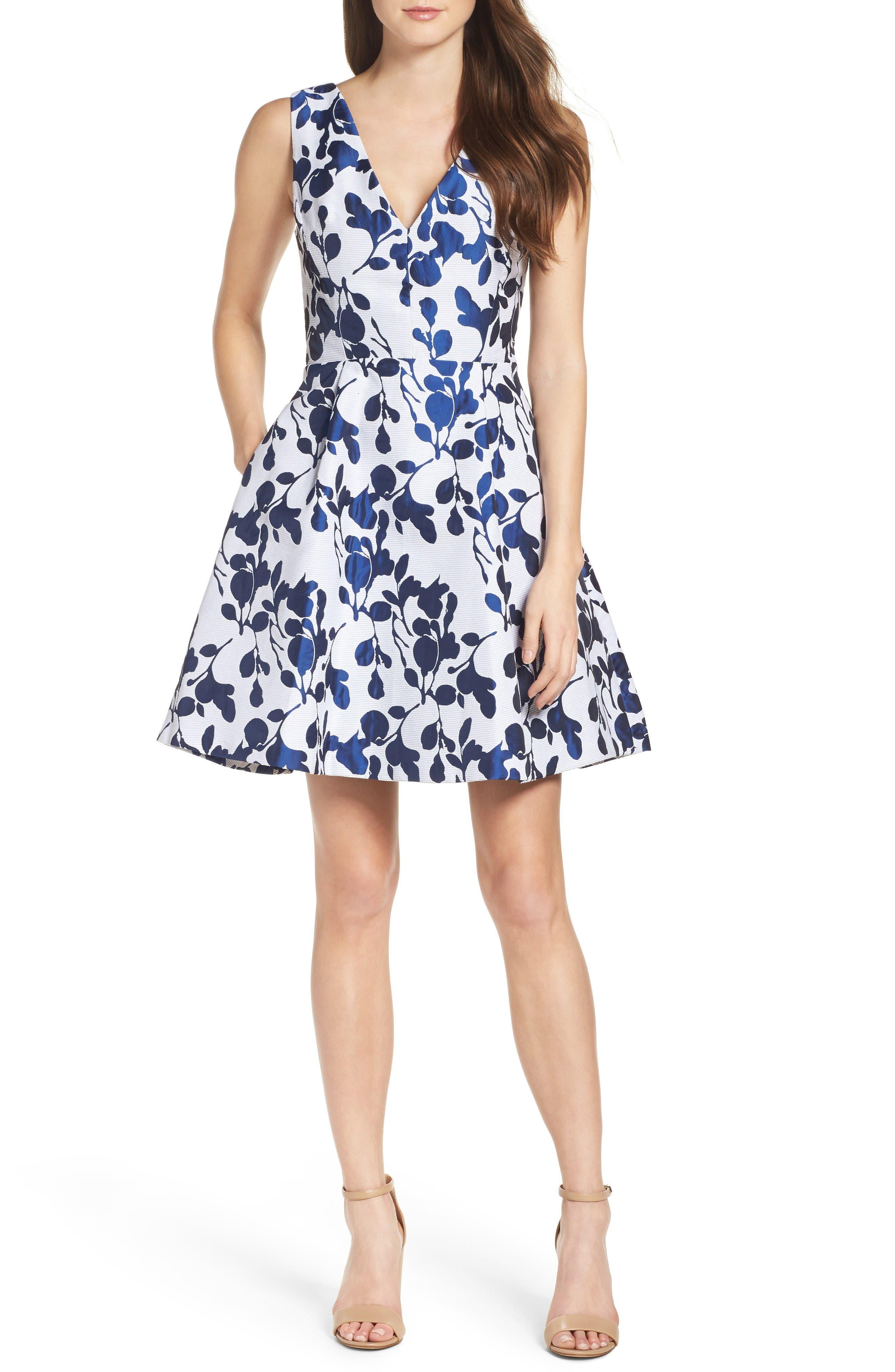 Alternate Image 4  - Betsey Johnson Fit & Flare Dress