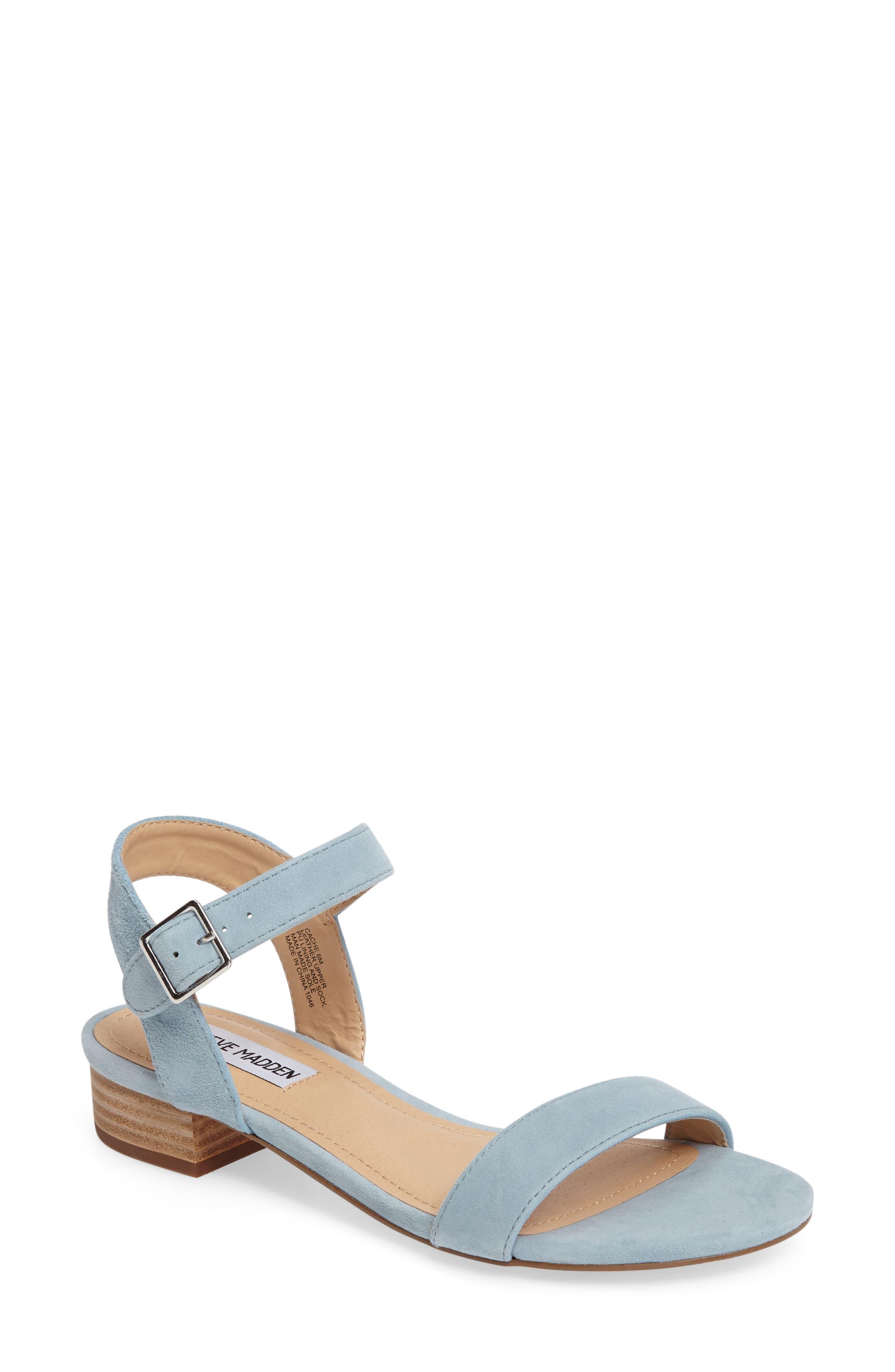 Cache Sandal,                         Main,                         color, Light Blue