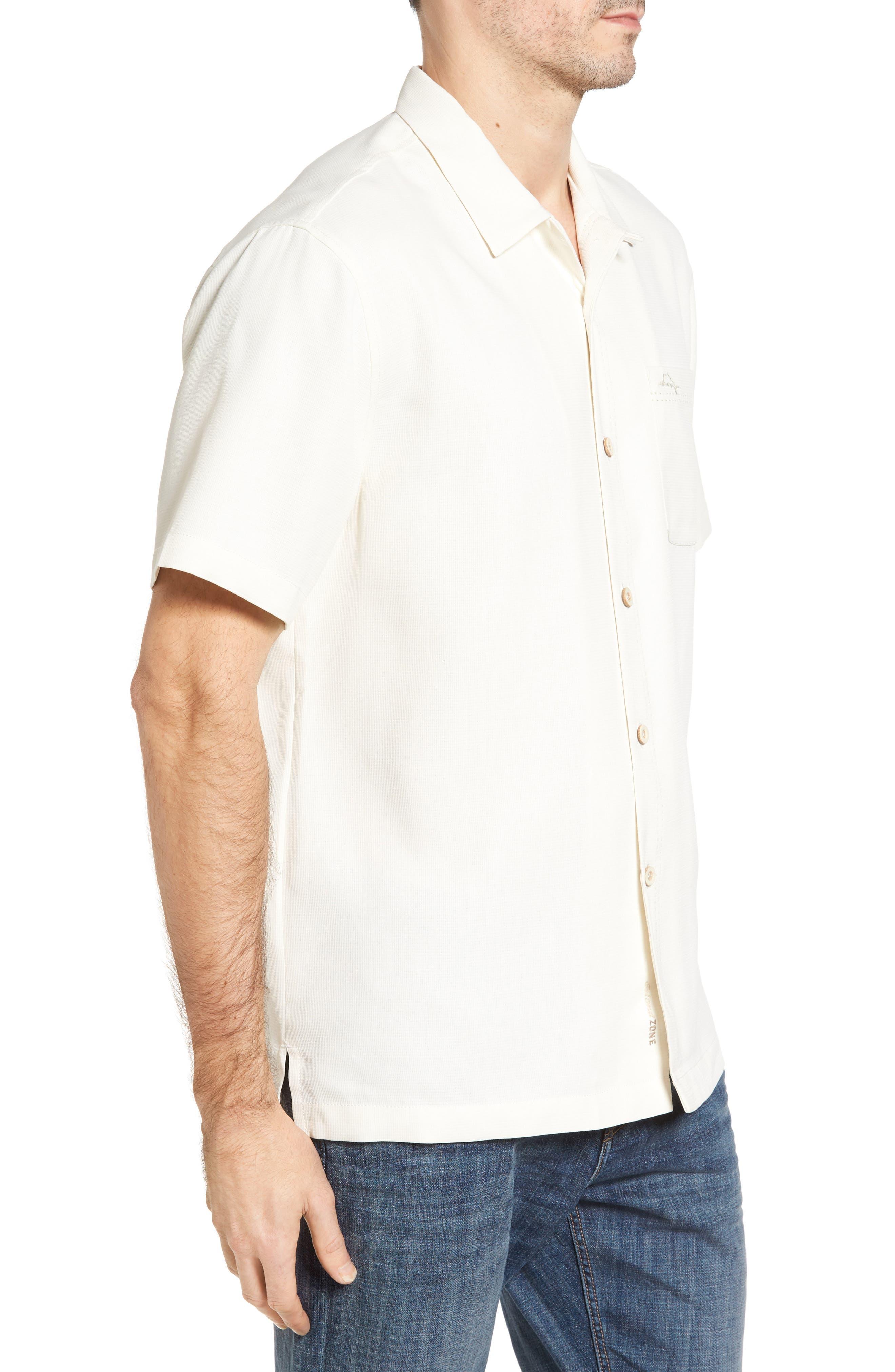 Royal Bermuda Standard Fit Silk Blend Camp Shirt,                             Alternate thumbnail 3, color,                             Continental
