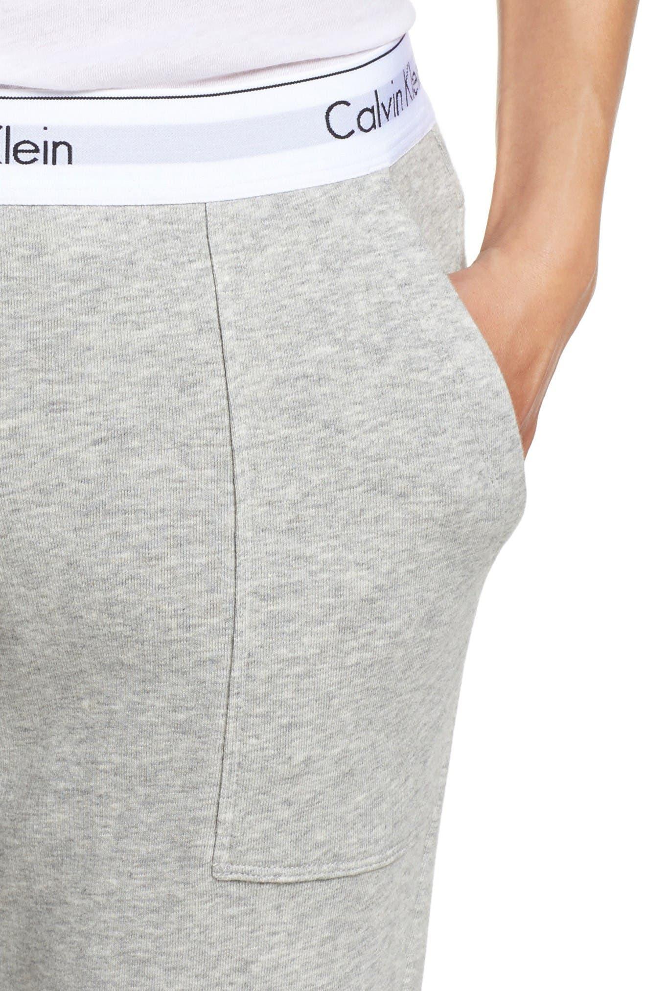 Alternate Image 4  - Calvin Klein Lounge Jogger Pants