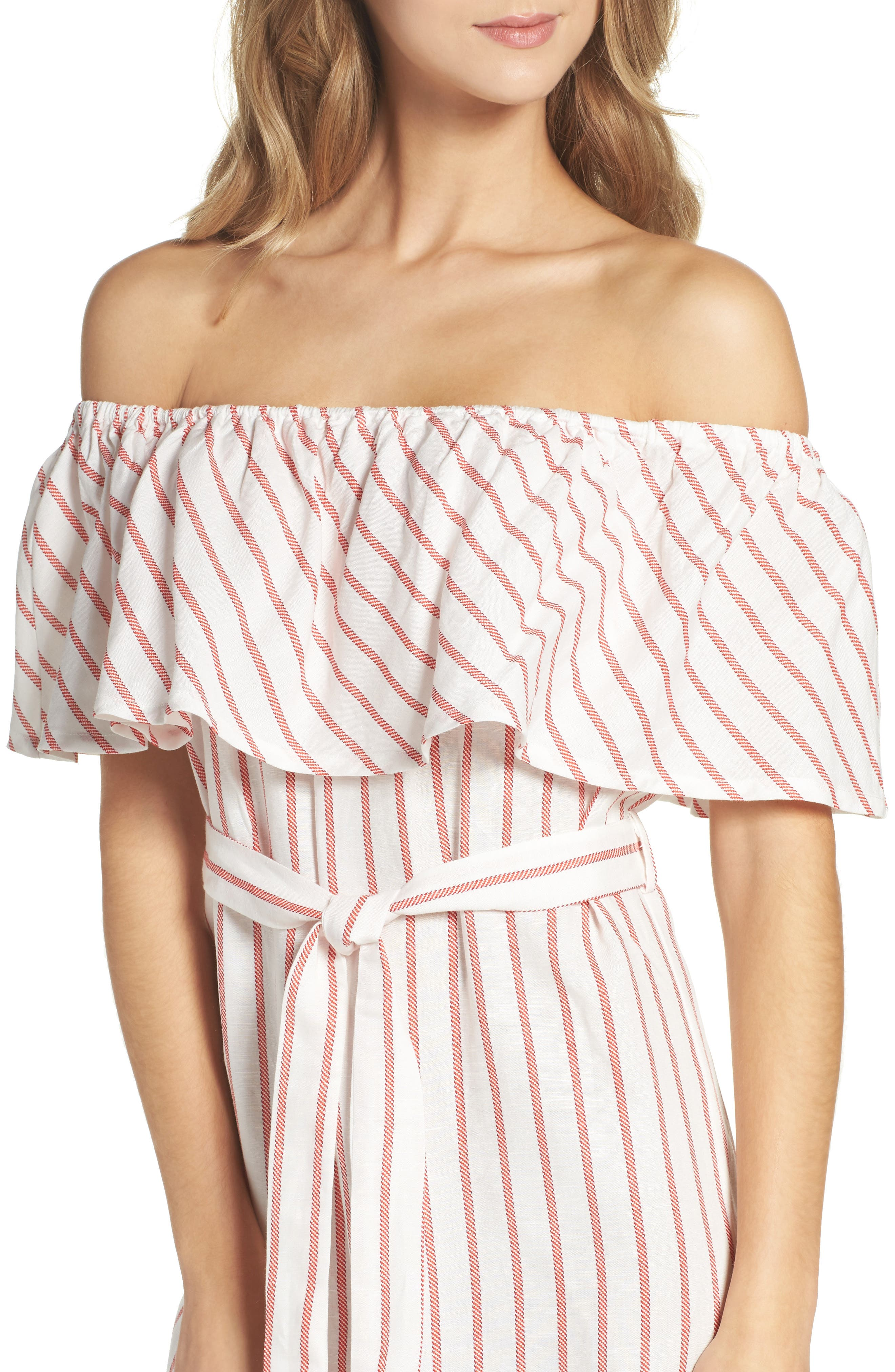 Alternate Image 4  - Bardot Capri Off the Shoulder Dress