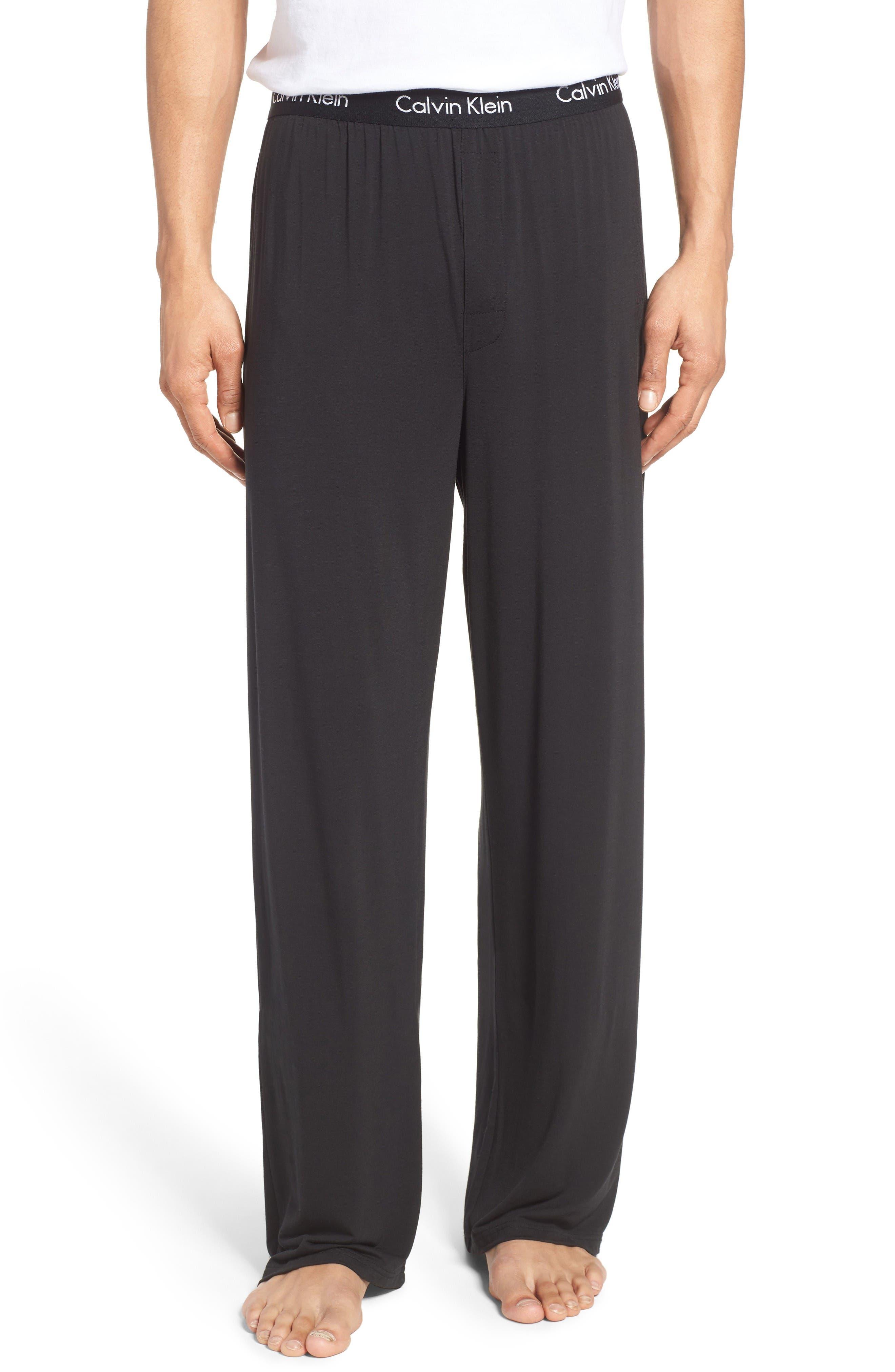 'U1143' Micromodal Lounge Pants,                         Main,                         color, Black