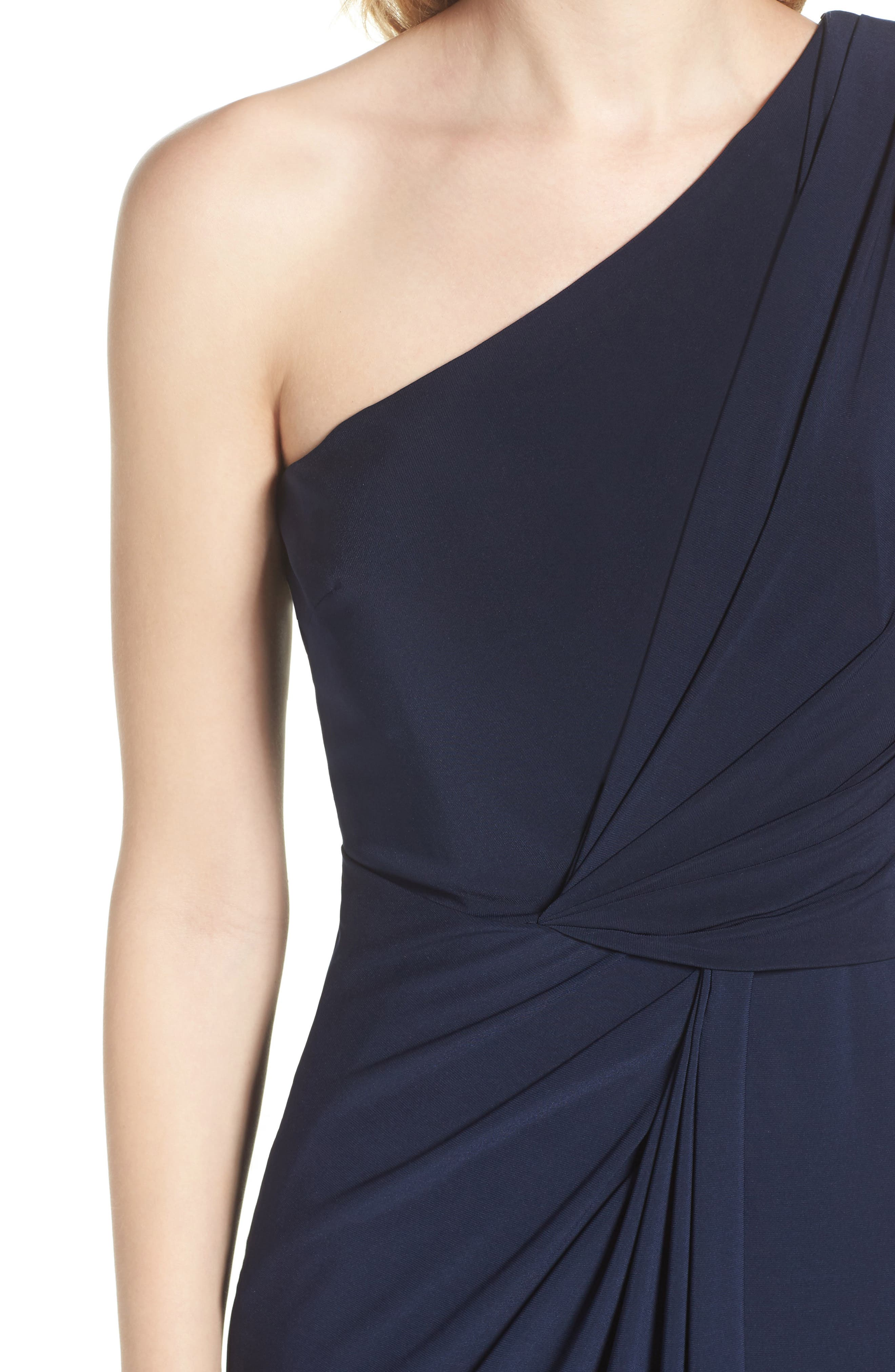 Alternate Image 4  - Adrianna Papell Jersey Column Gown