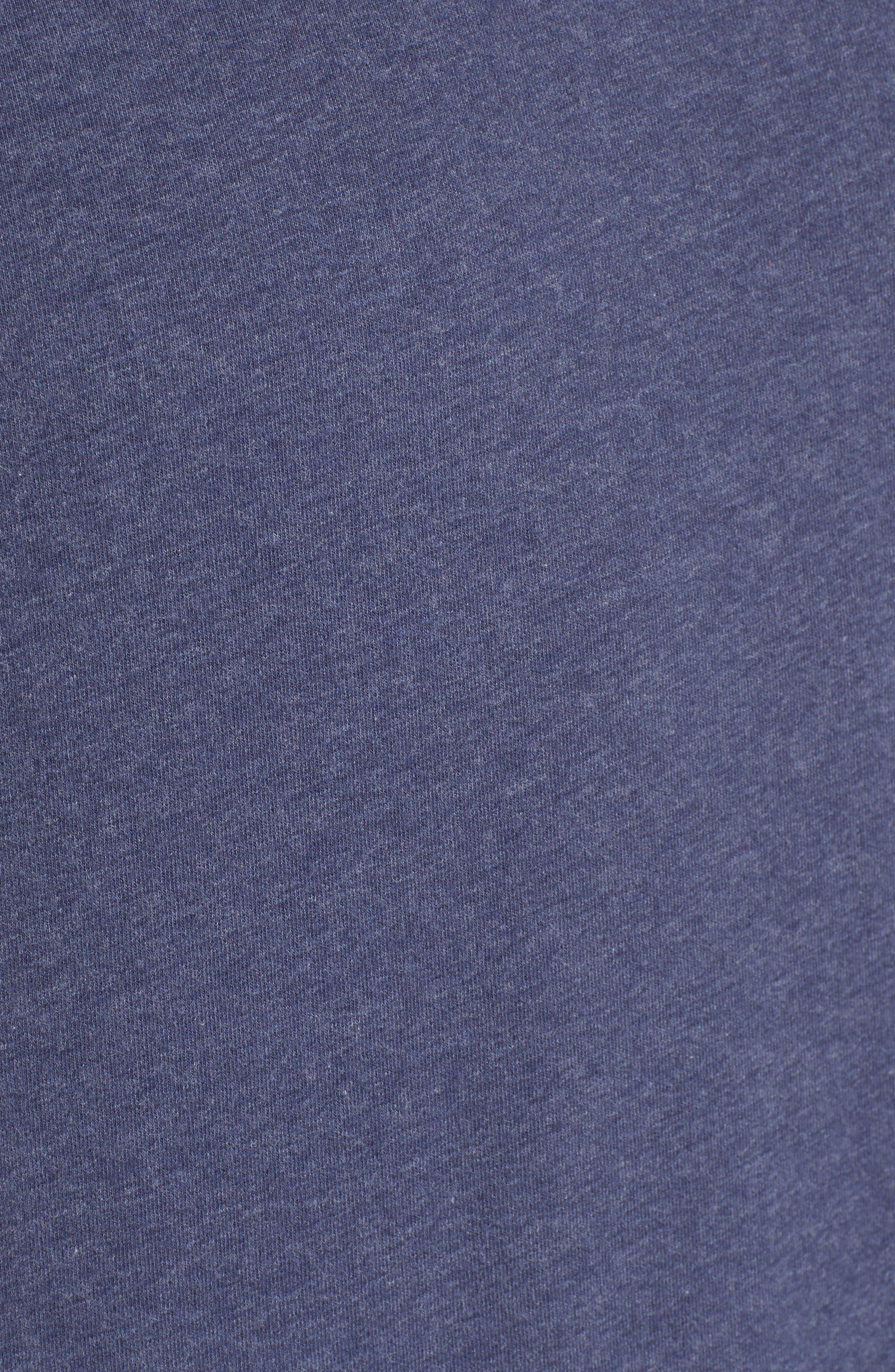 Alternate Image 5  - Nordstrom Men's Shop Stretch Cotton V-Neck T-Shirt