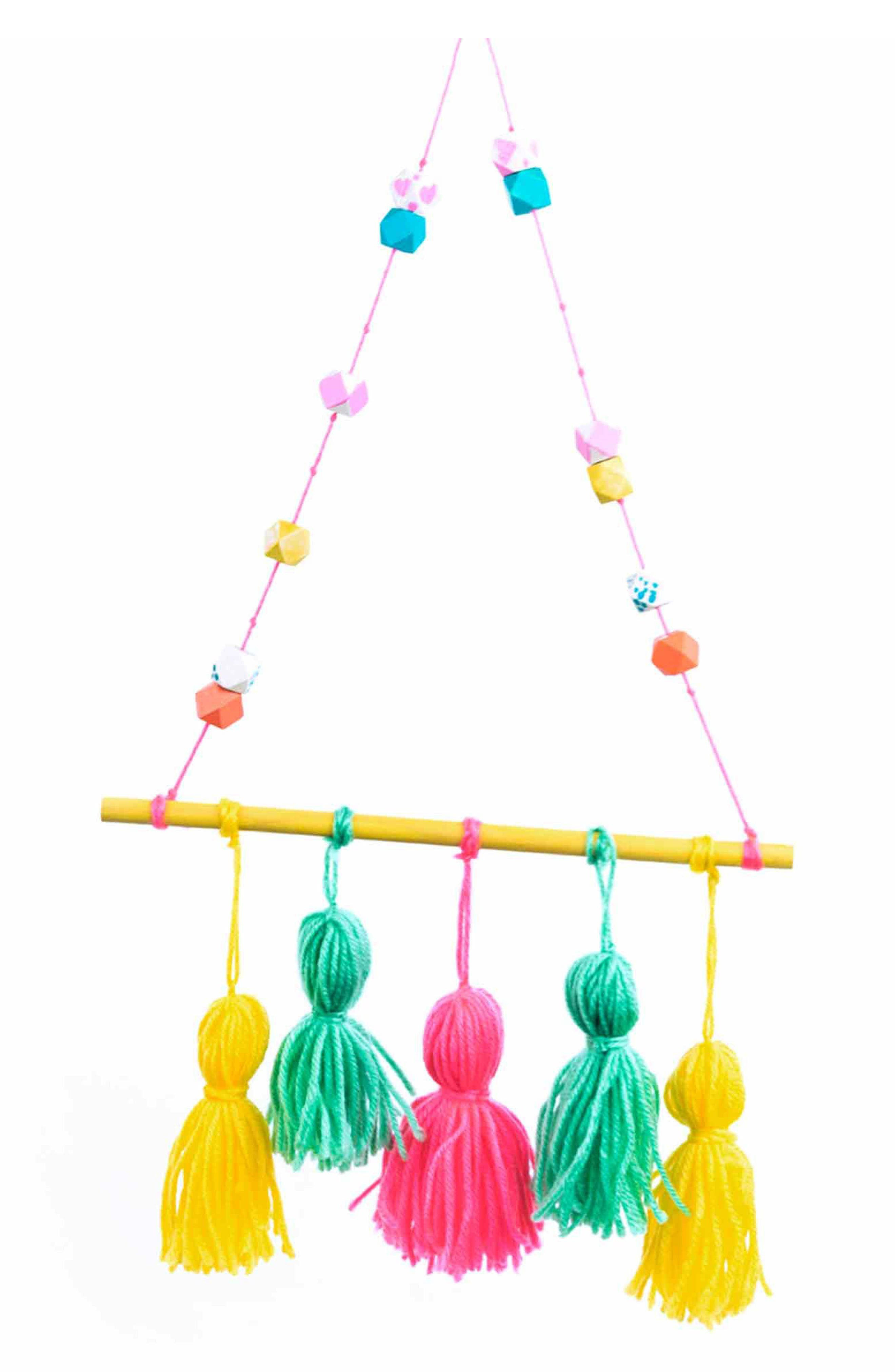 Make Your Own Tassel Wall Hanging,                             Alternate thumbnail 2, color,                             Multi