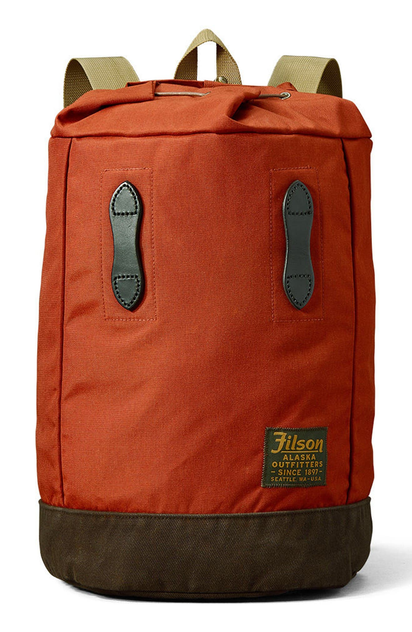 Day Pack,                             Main thumbnail 1, color,                             Rust Red
