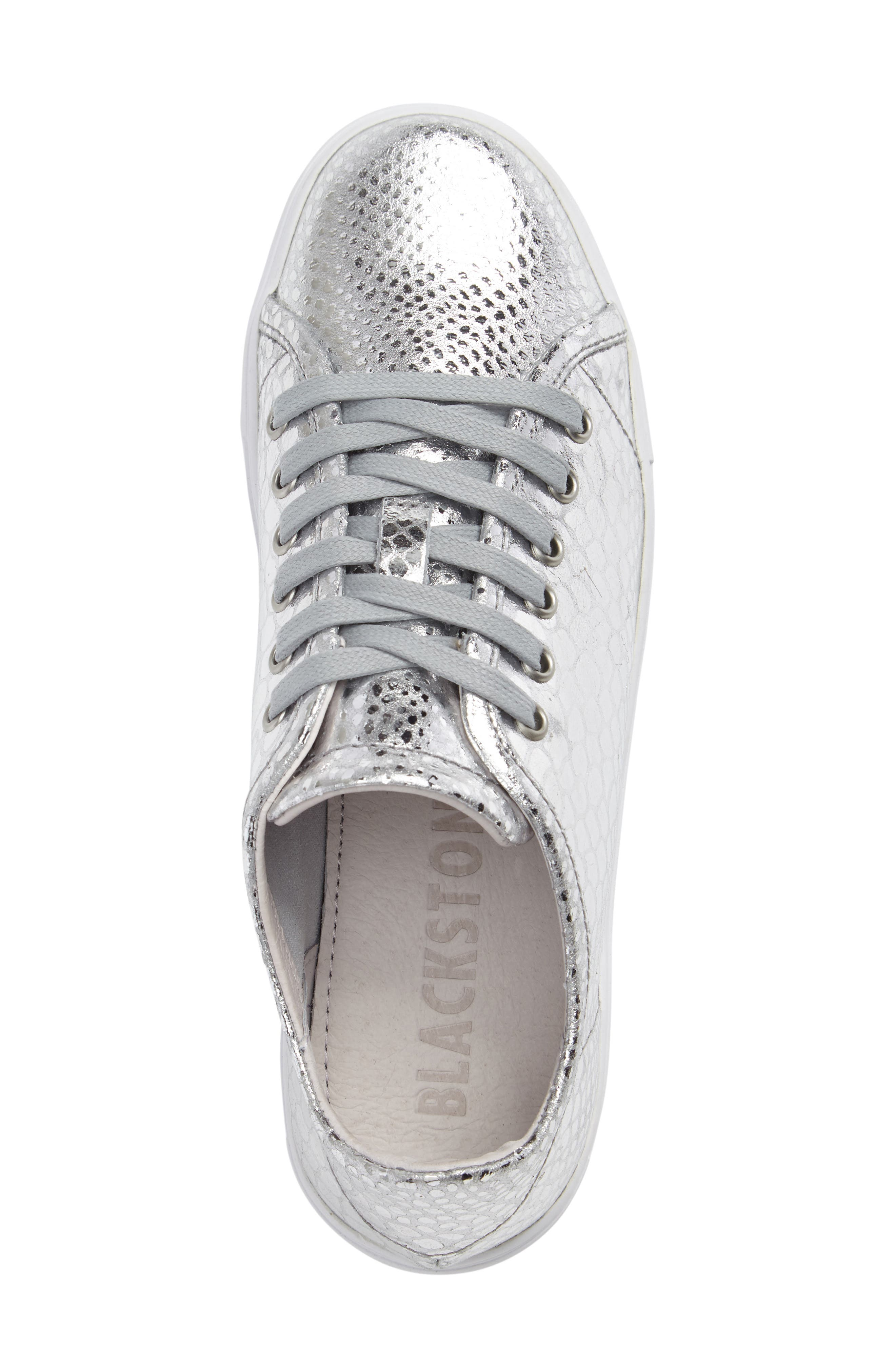 NL32 Sneaker,                             Alternate thumbnail 3, color,                             Silver Leather