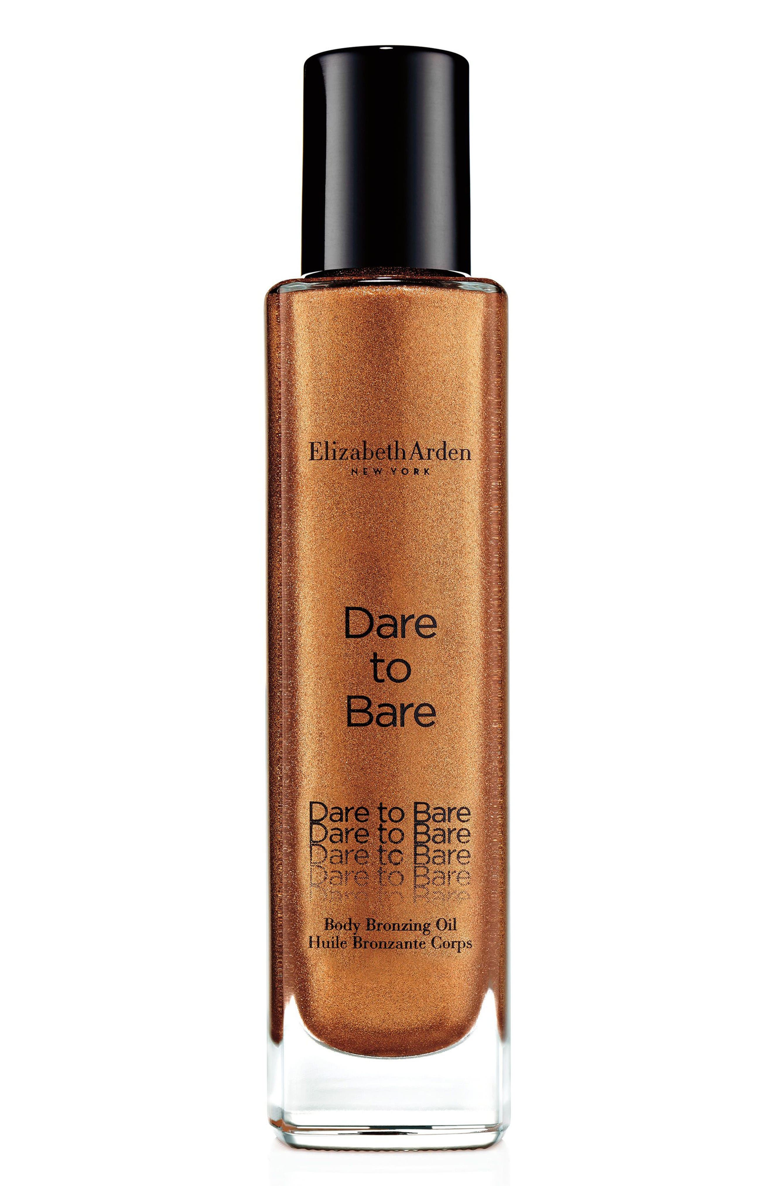 Dare to Bare Body Bronzing Oil,                         Main,                         color, No Color