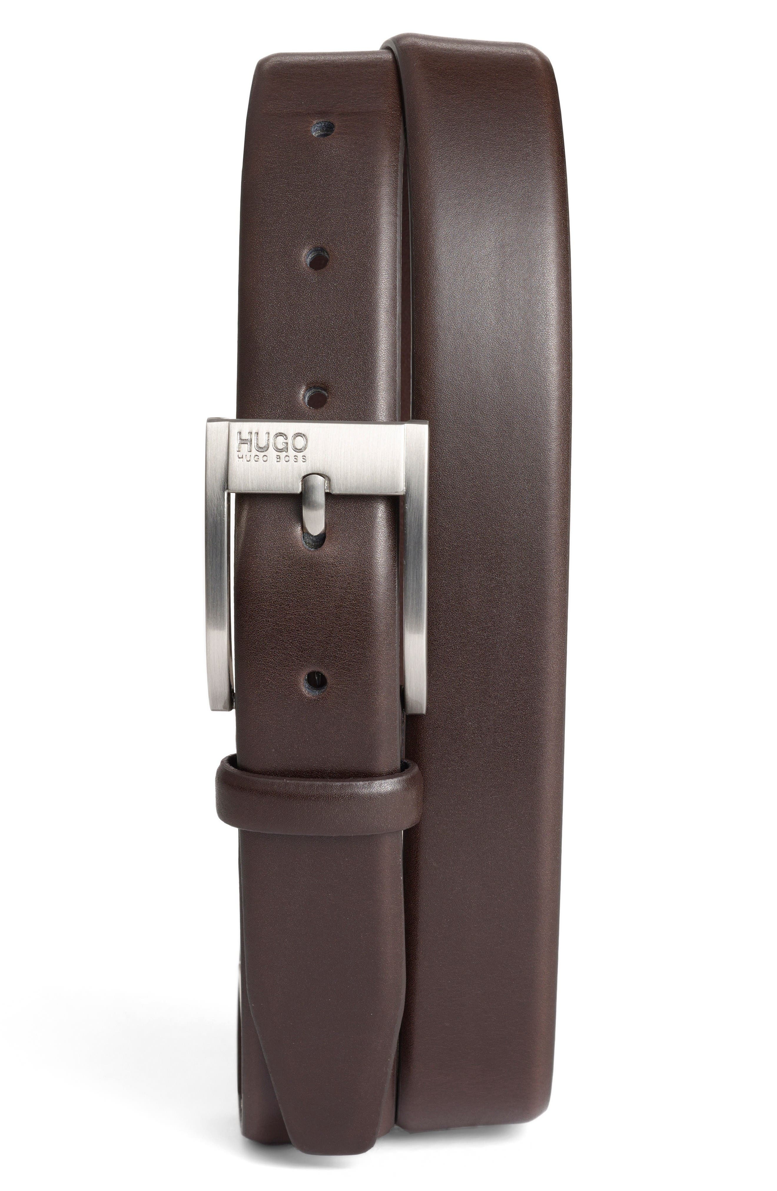 Main Image - BOSS 'Brandon' Leather Belt