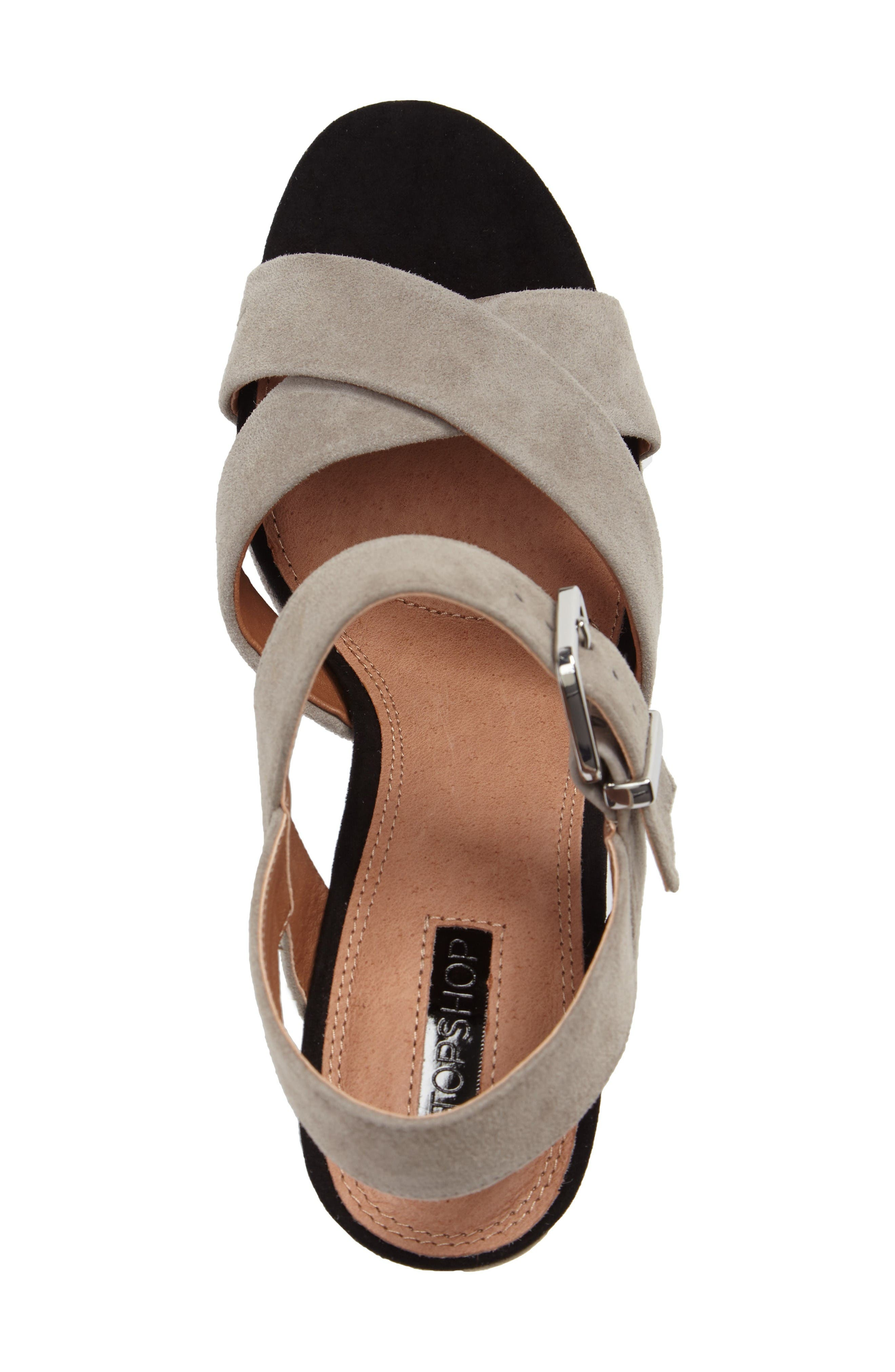 Alternate Image 5  - Topshop Layla Platform Sandal (Women)