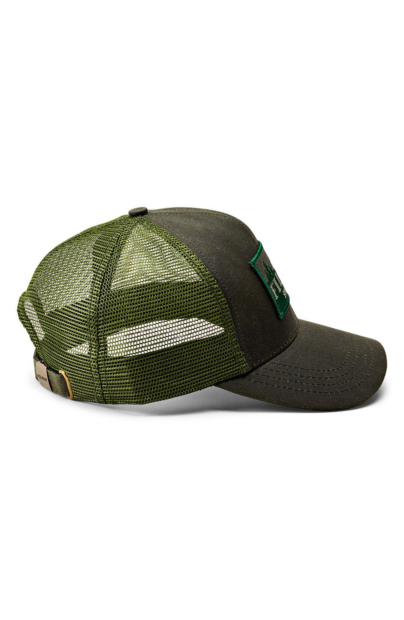 Logger Trucker Hat,                             Alternate thumbnail 2, color,                             Otter Green