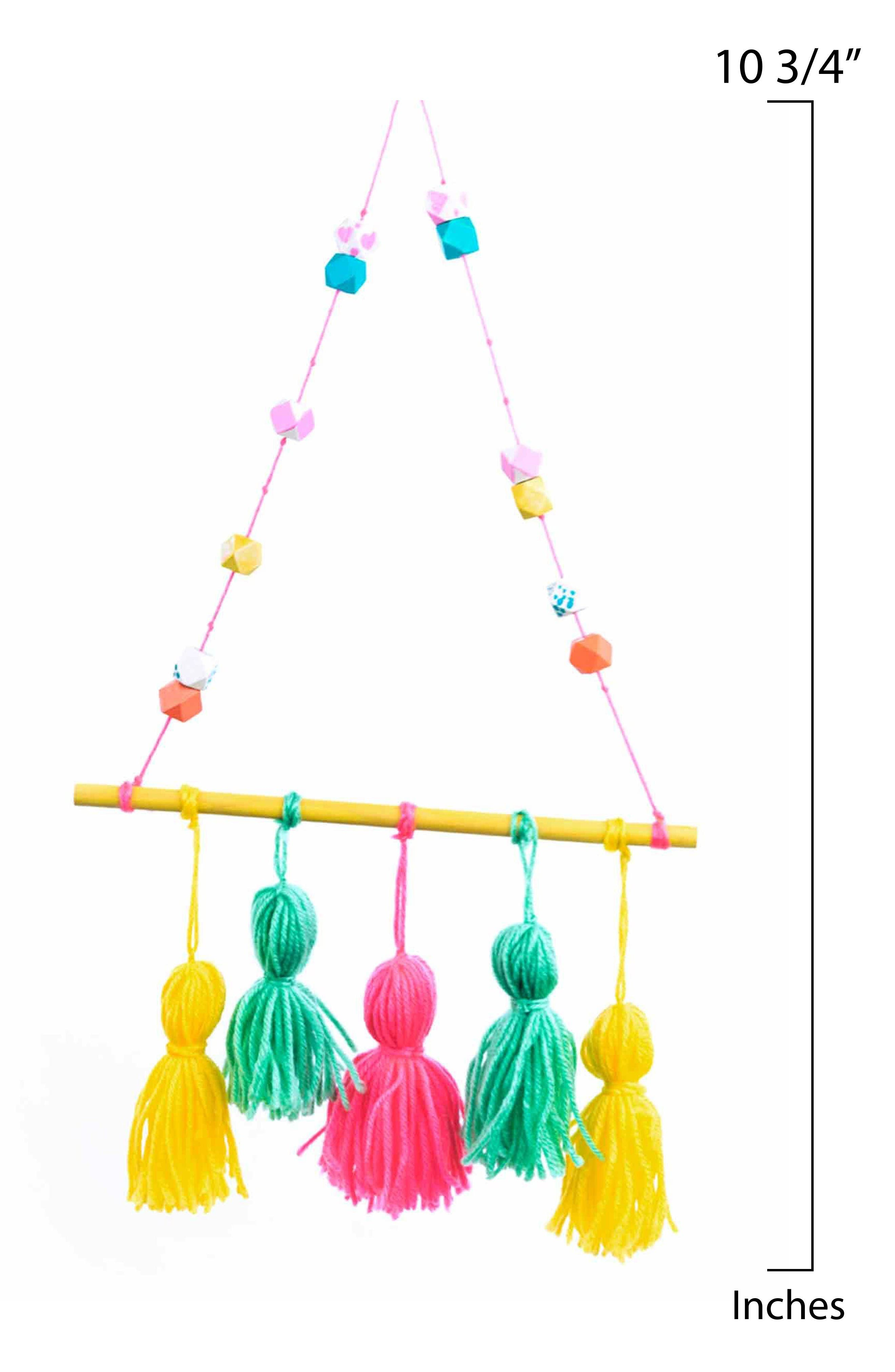 Make Your Own Tassel Wall Hanging,                             Alternate thumbnail 3, color,                             Multi