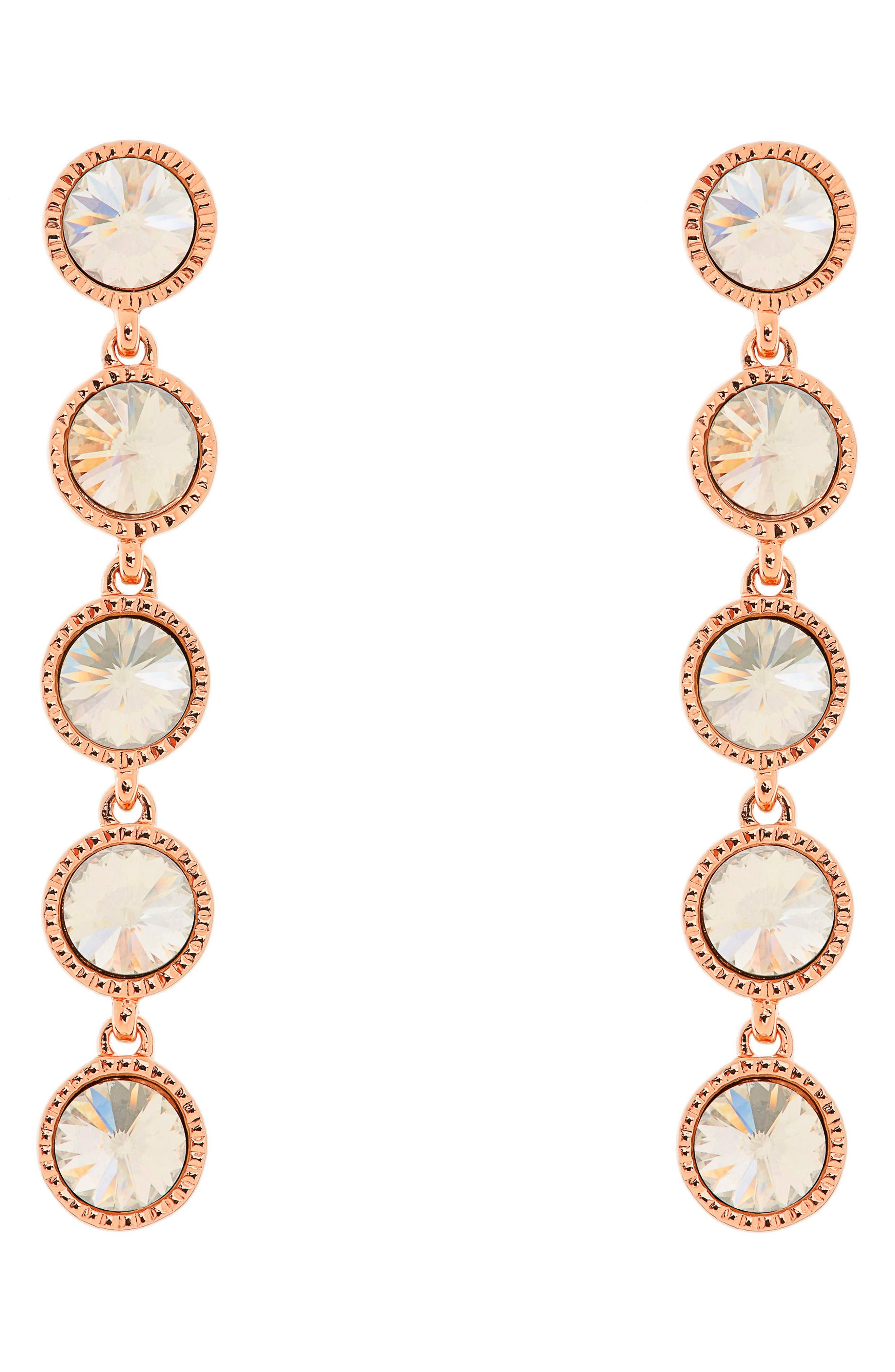 Alternate Image 1 Selected - Ted Baker London Rizza Crystal Drop Earrings