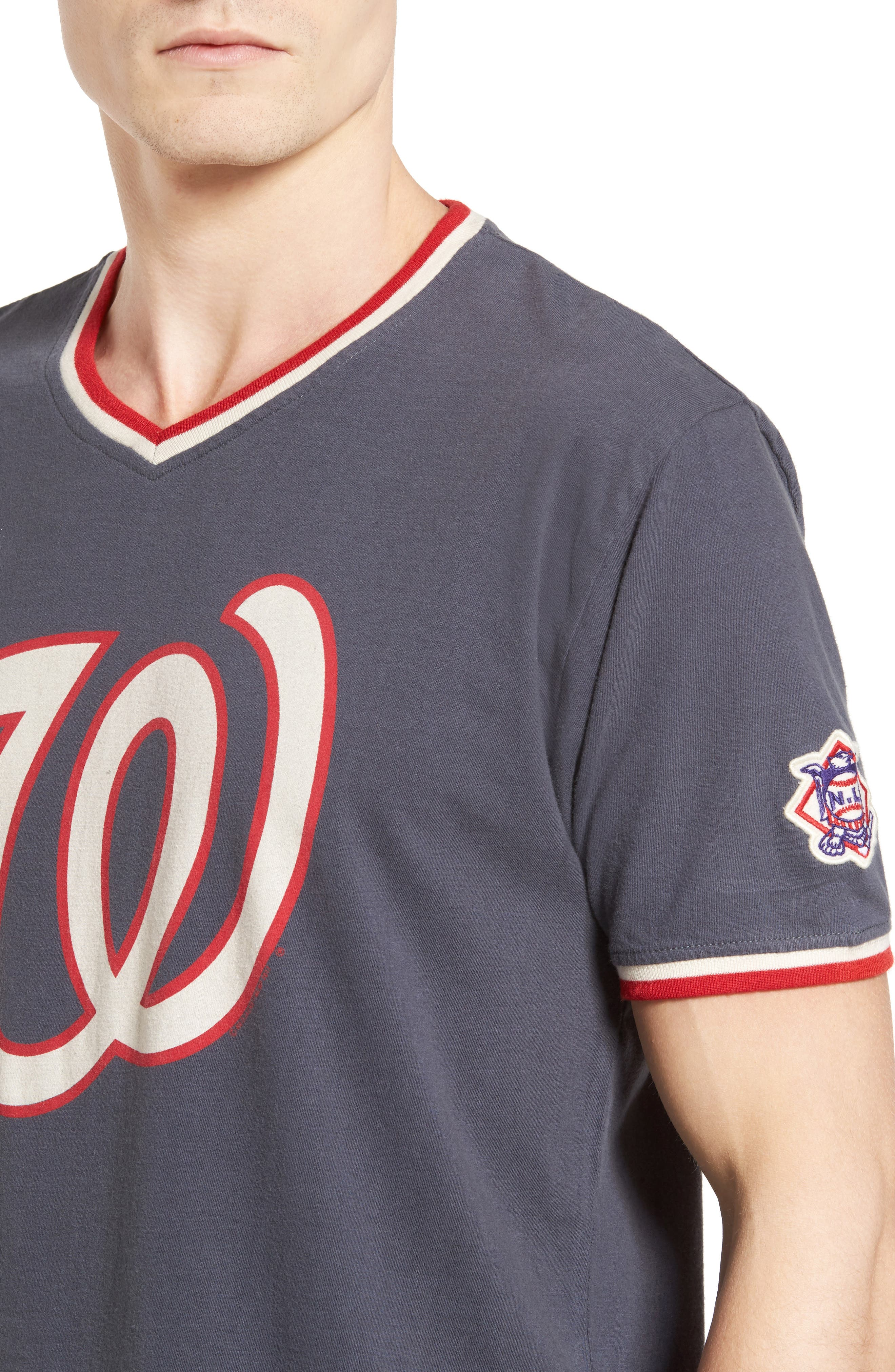 Eastwood Washington Nationals T-Shirt,                             Alternate thumbnail 4, color,                             Navy