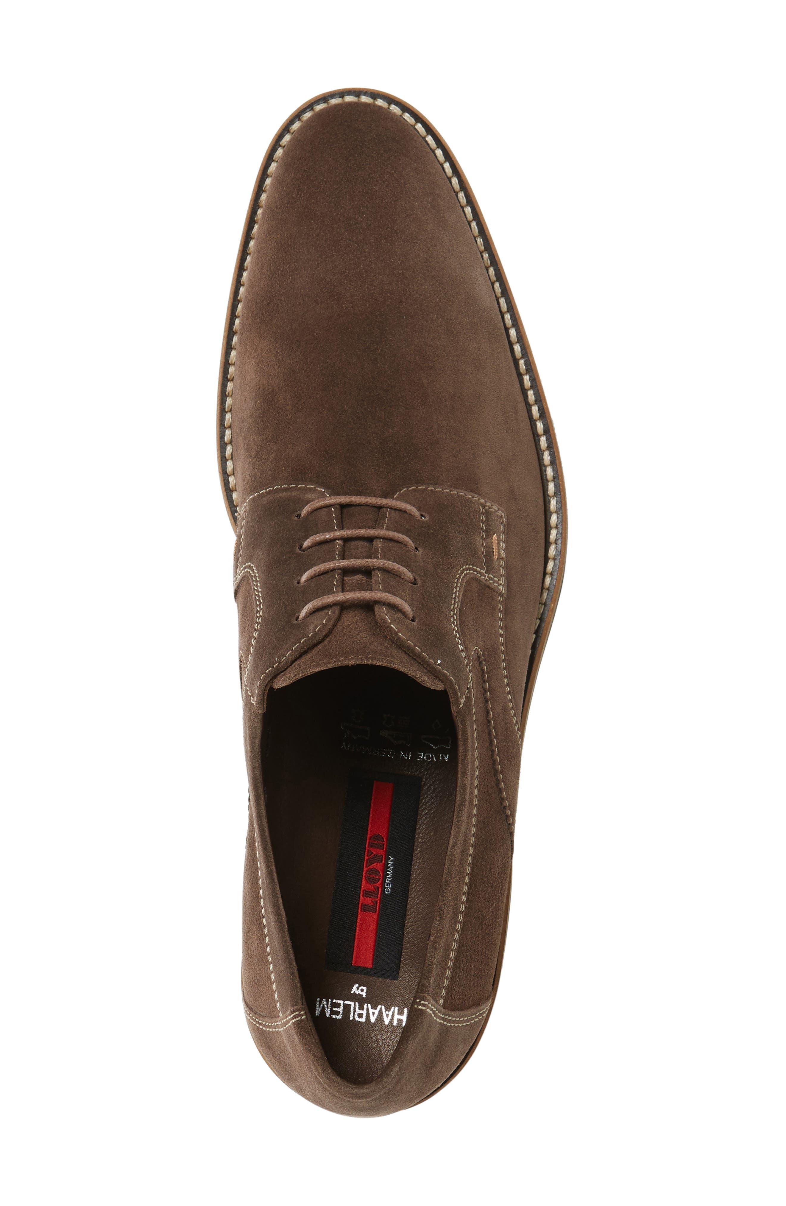 Haarlem Buck Shoe,                             Alternate thumbnail 5, color,                             Noce Brown
