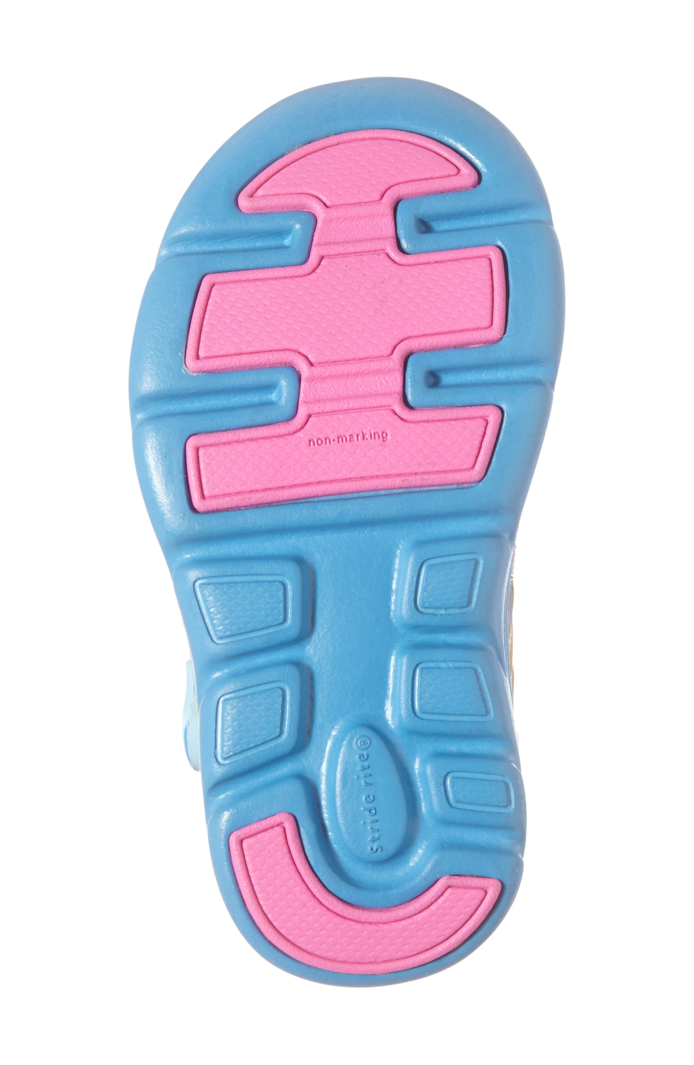 Made2Play<sup>®</sup> My Little Pony<sup>™</sup> Phibian Sneaker,                             Alternate thumbnail 6, color,                             Rainbow Turquoise