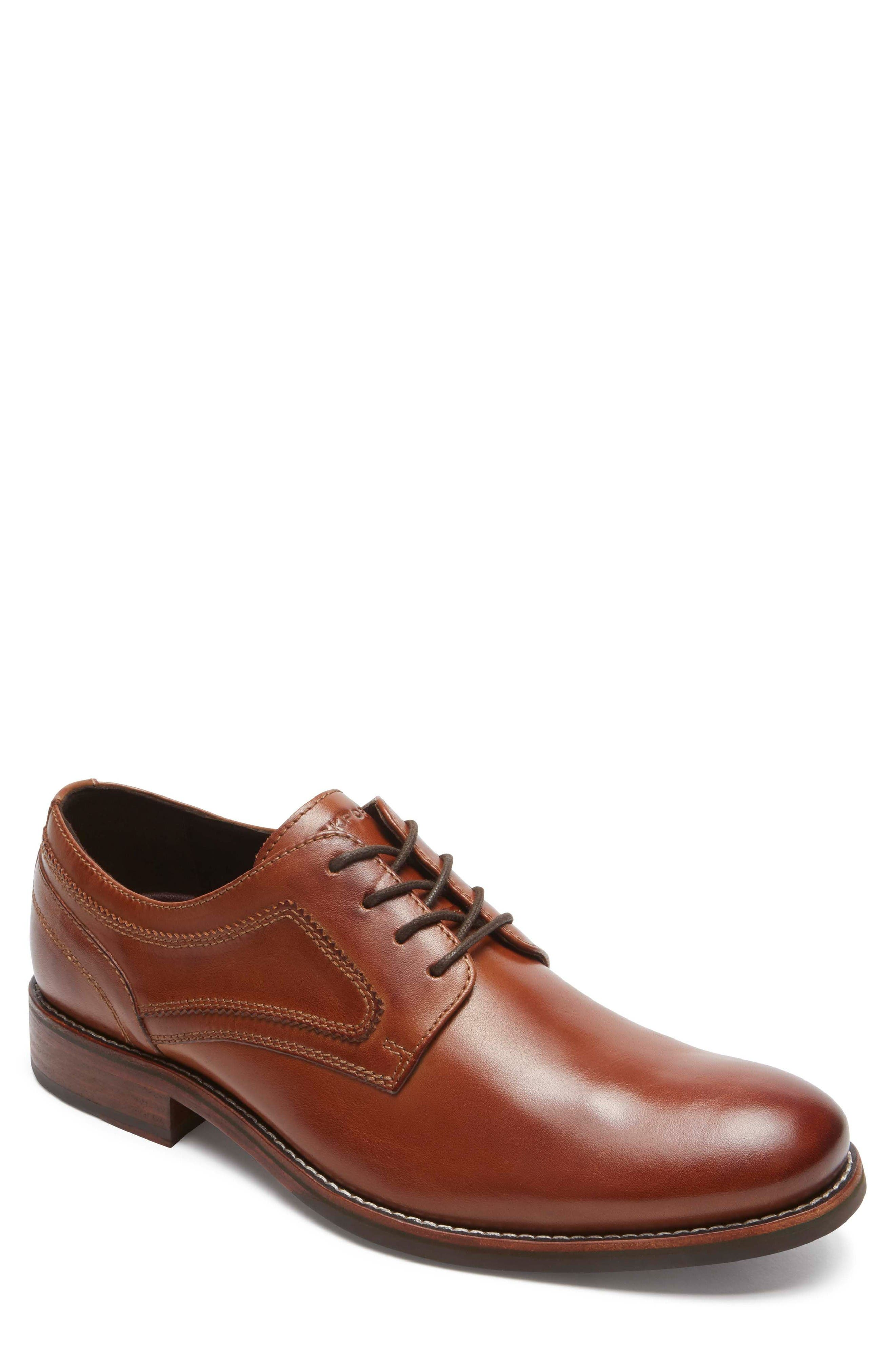Rockport Wyat Plain Toe Derby (Men)
