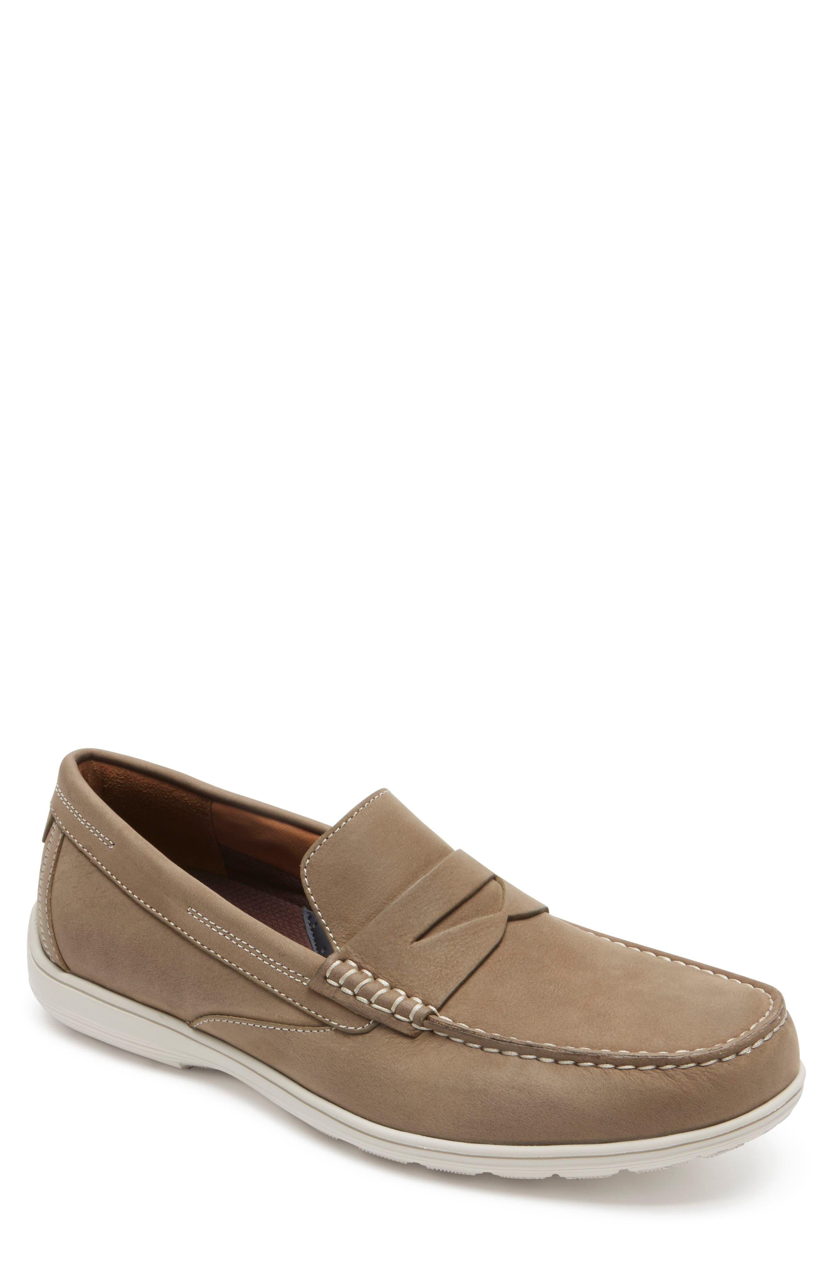 Alternate Image 1 Selected - Rockport Total Motion Penny Loafer (Men)
