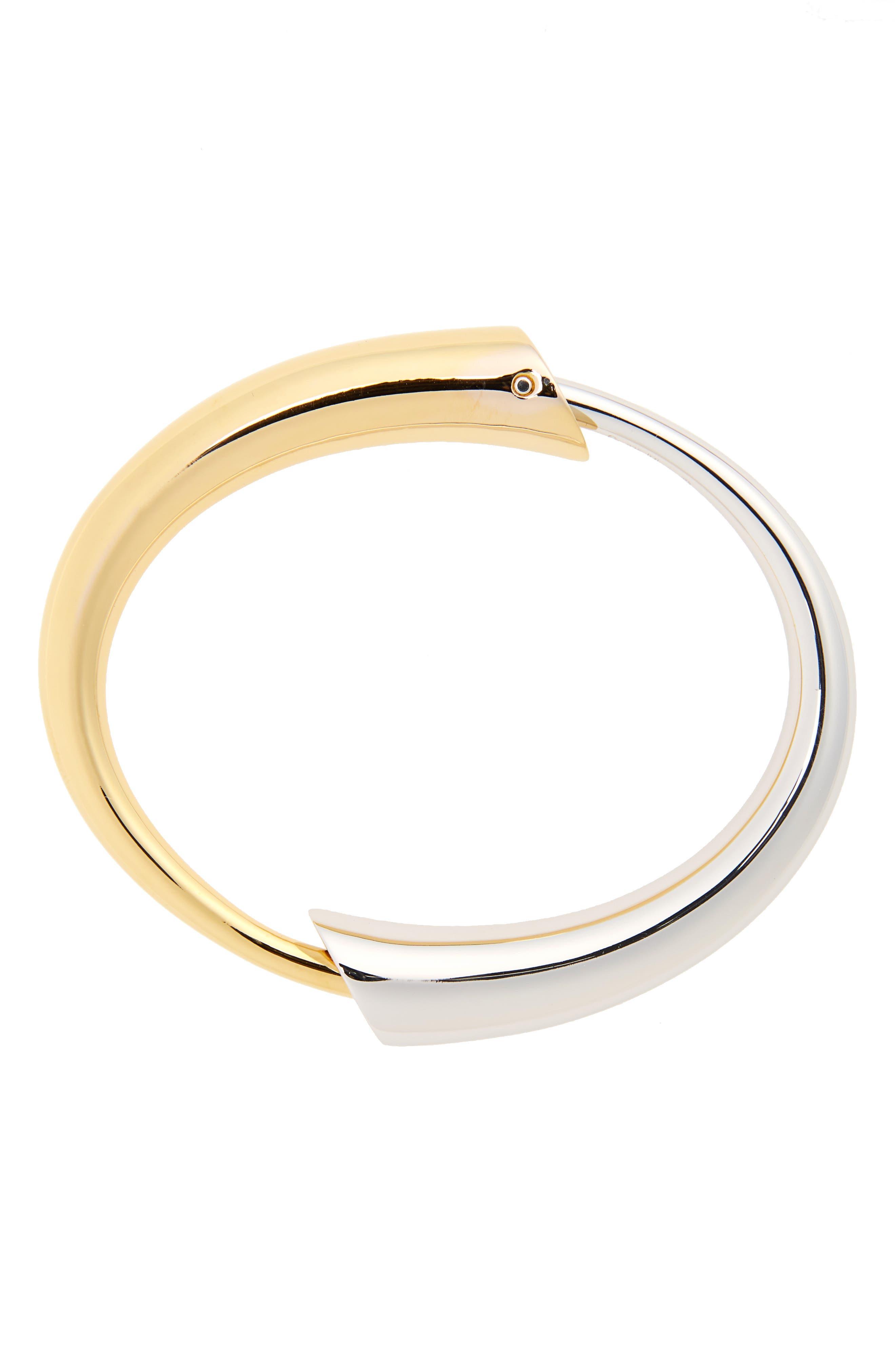 Gia Bracelet,                             Main thumbnail 1, color,                             Yellow/Vermeil/Silver