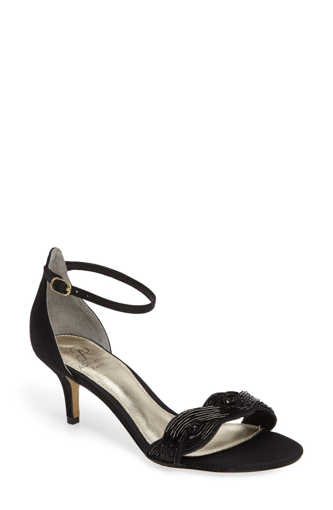 Adrianna Papell Aerin Embellished Sandal (Women)
