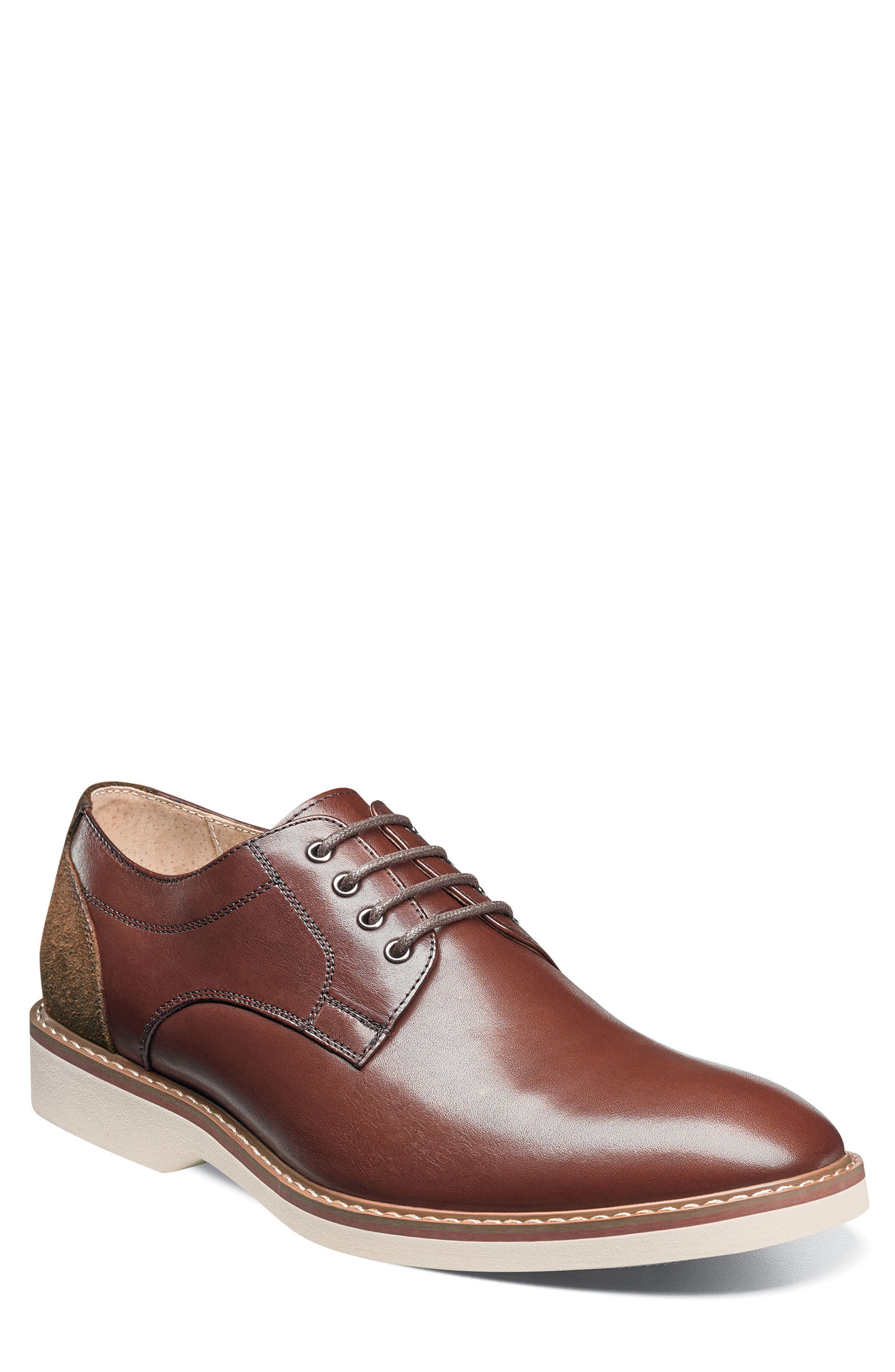 Union Buck Shoe,                         Main,                         color, Brown Leather