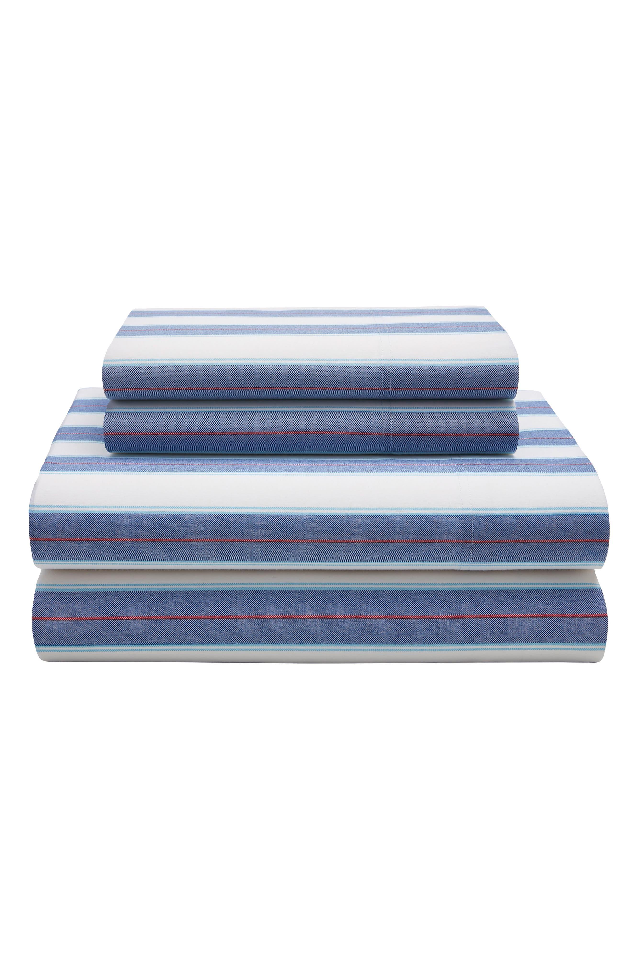 Tommy Hilfiger Preppy Stripe Sheet Set