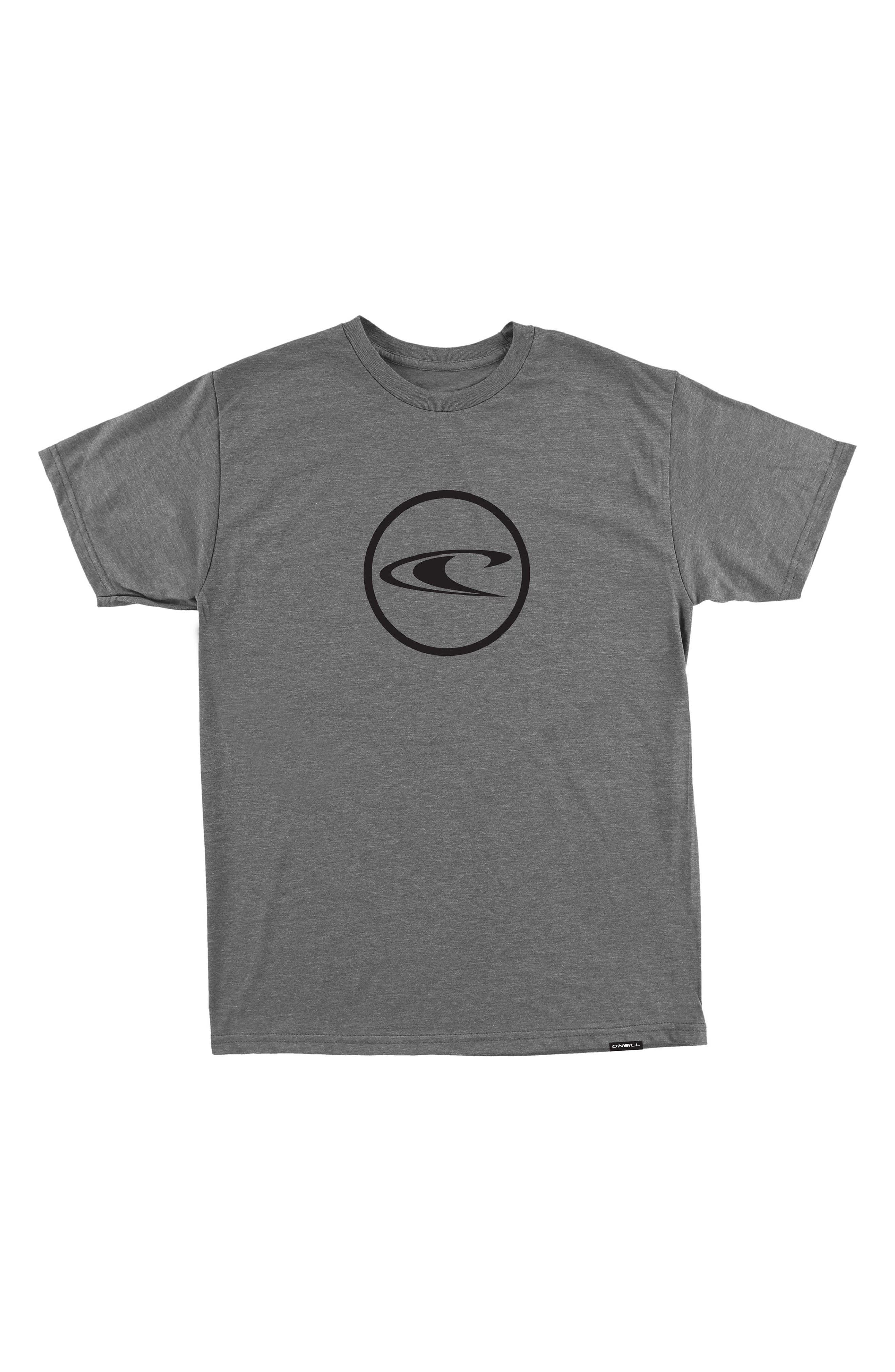 Iron Worker T-Shirt,                             Main thumbnail 1, color,                             Medium Heather Grey