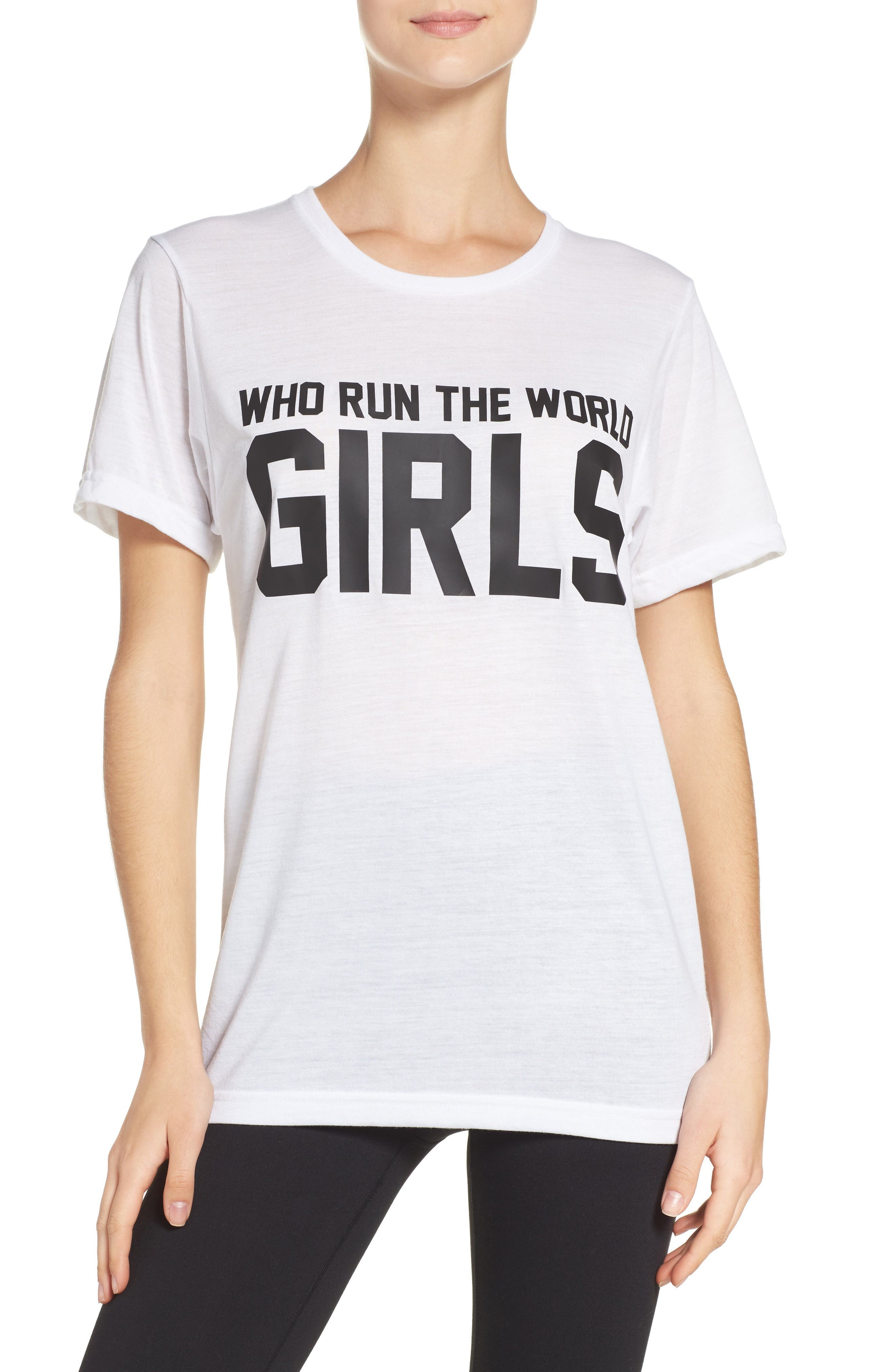 Private Party Who Run The World Graphic Tee (Women)