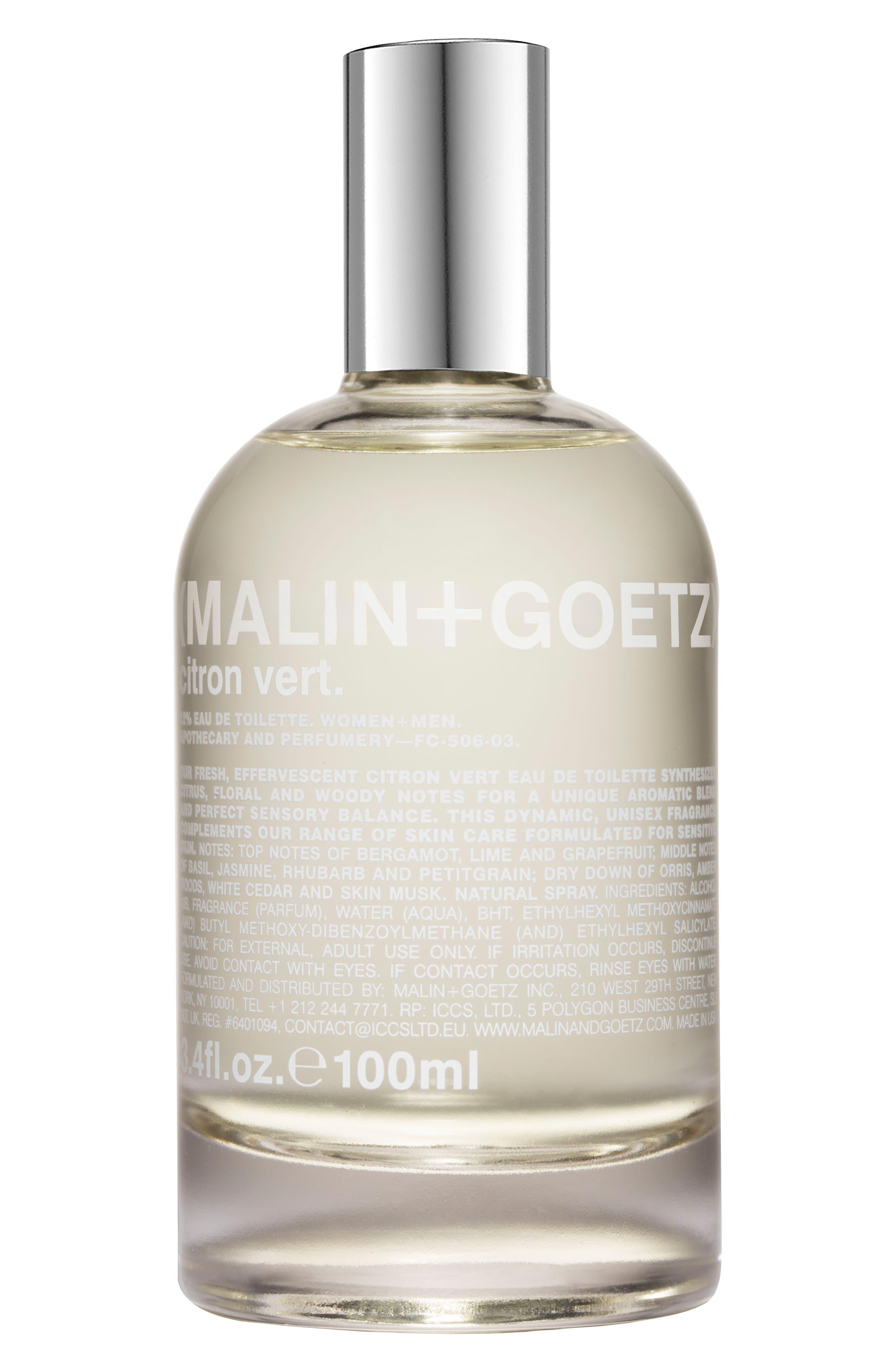 Alternate Image 1 Selected - SPACE.NK.apothecary Malin + Goetz Citron Vert Eau de Toilette