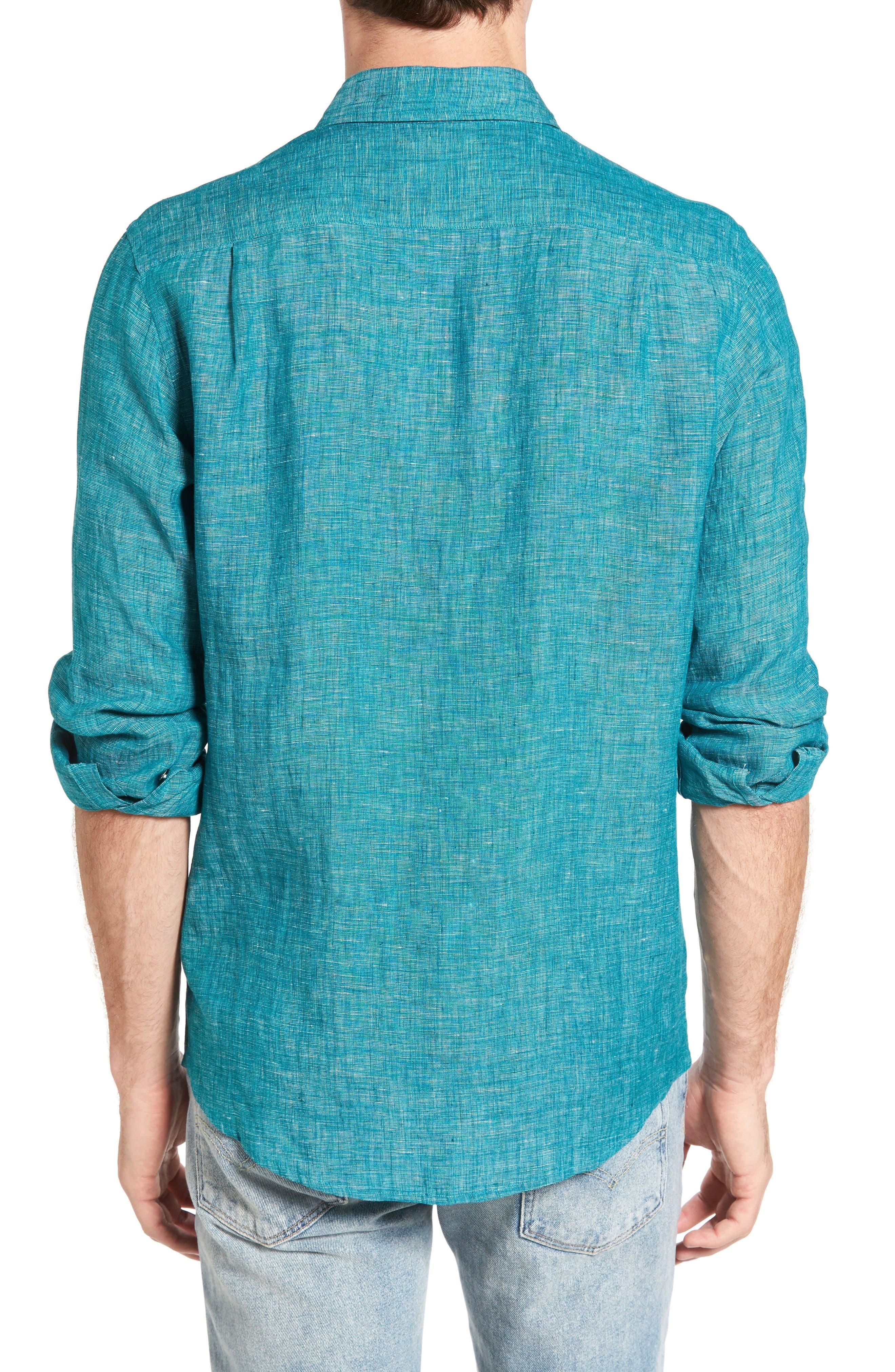 Alternate Image 2  - Rodd & Gunn Norsewood Sports Fit Linen Sport Shirt