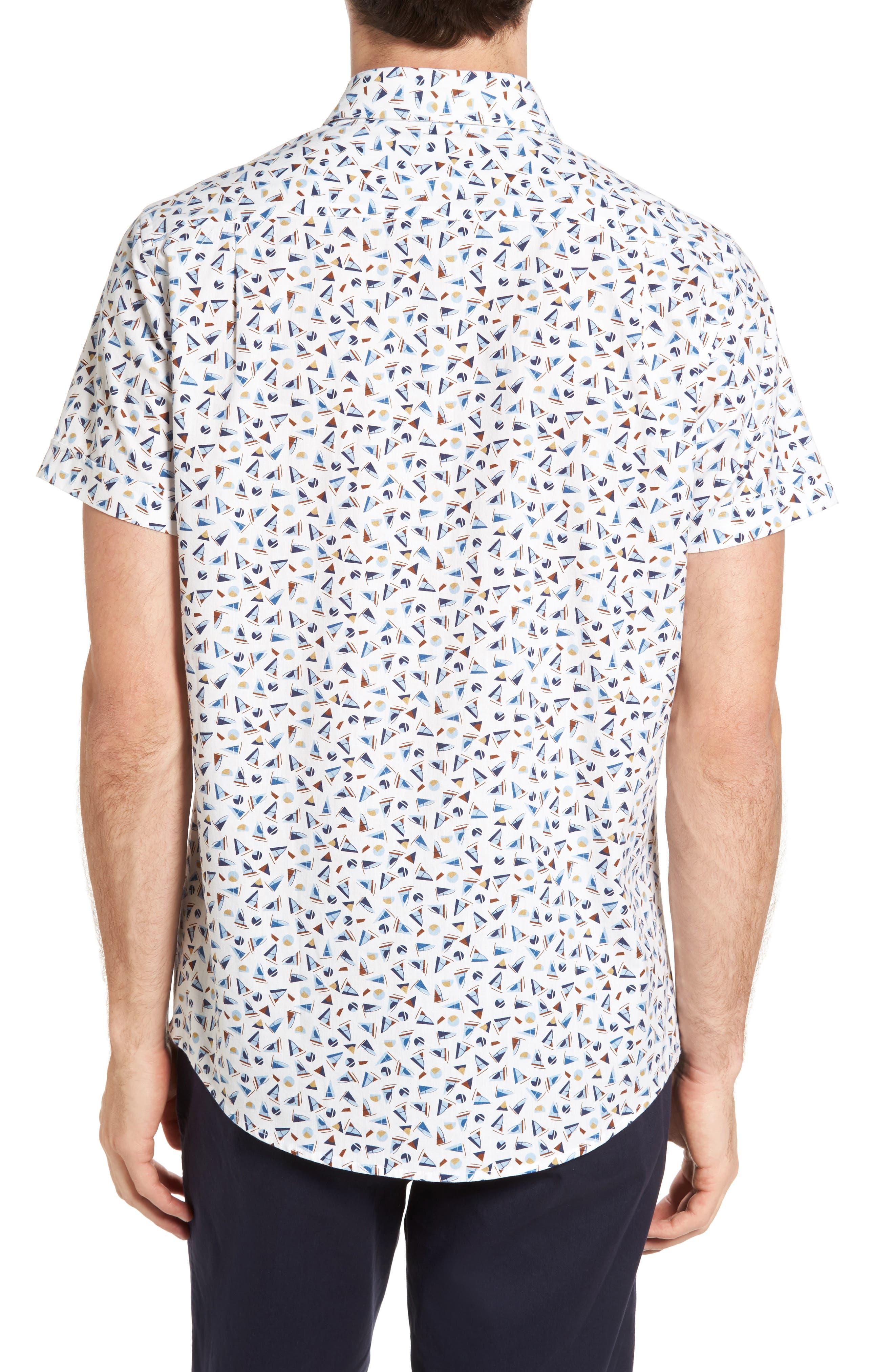 Alternate Image 2  - Rodd & Gunn Coal Island Original Fit Print Sport Shirt