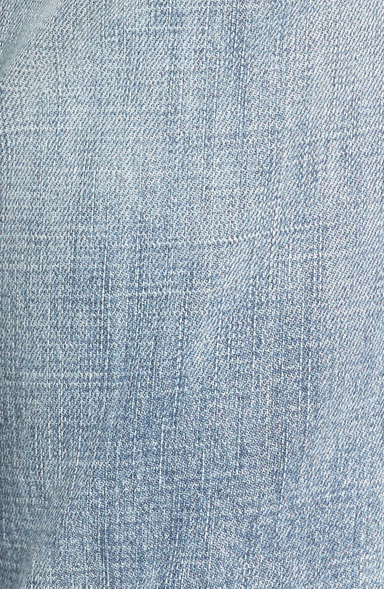 Alternate Image 5  - KUT from the Kloth Catherine Distressed Frayed Hem Boyfriend Jeans (Heartiness)