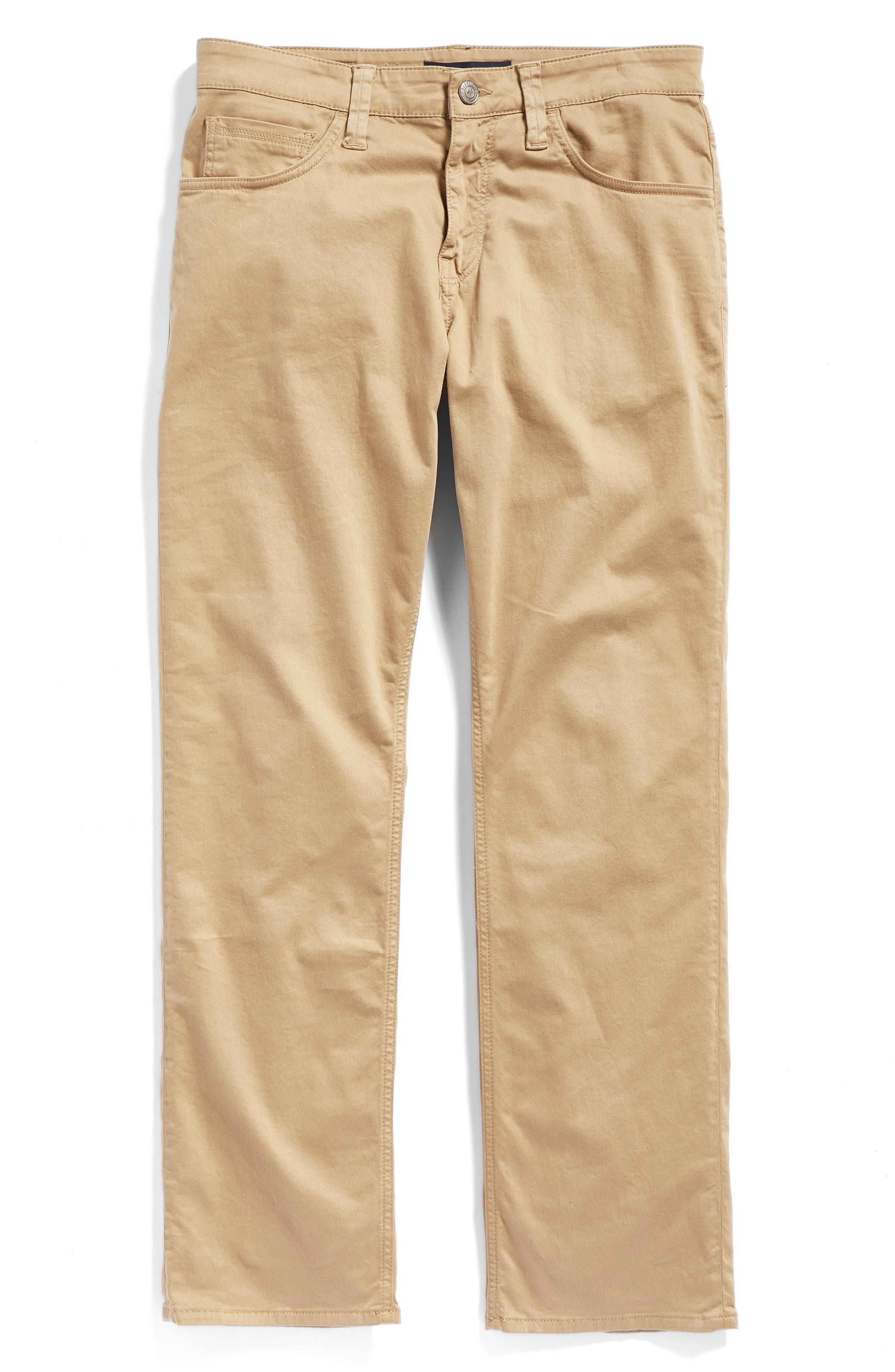 Matt Relaxed Fit Jeans,                             Alternate thumbnail 6, color,                             British Khaki Twill