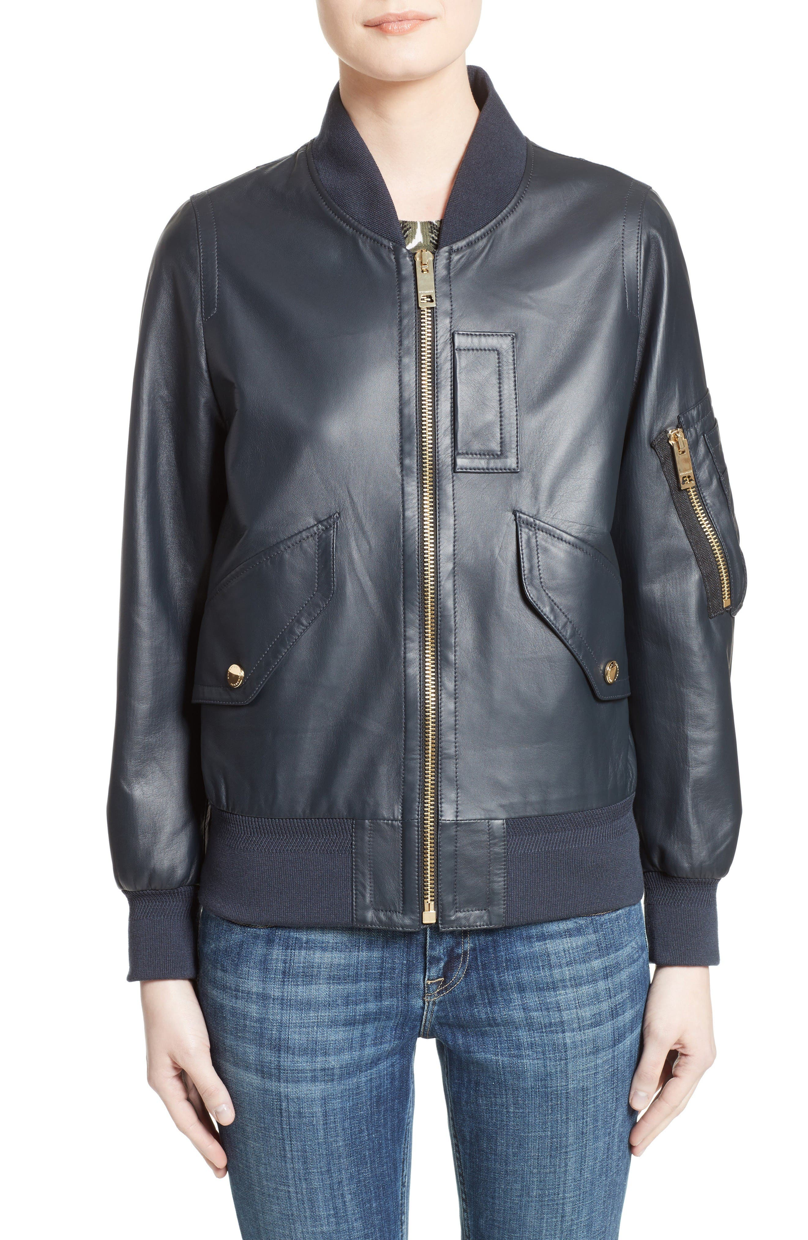 Burberry Penhale Leather Jacket