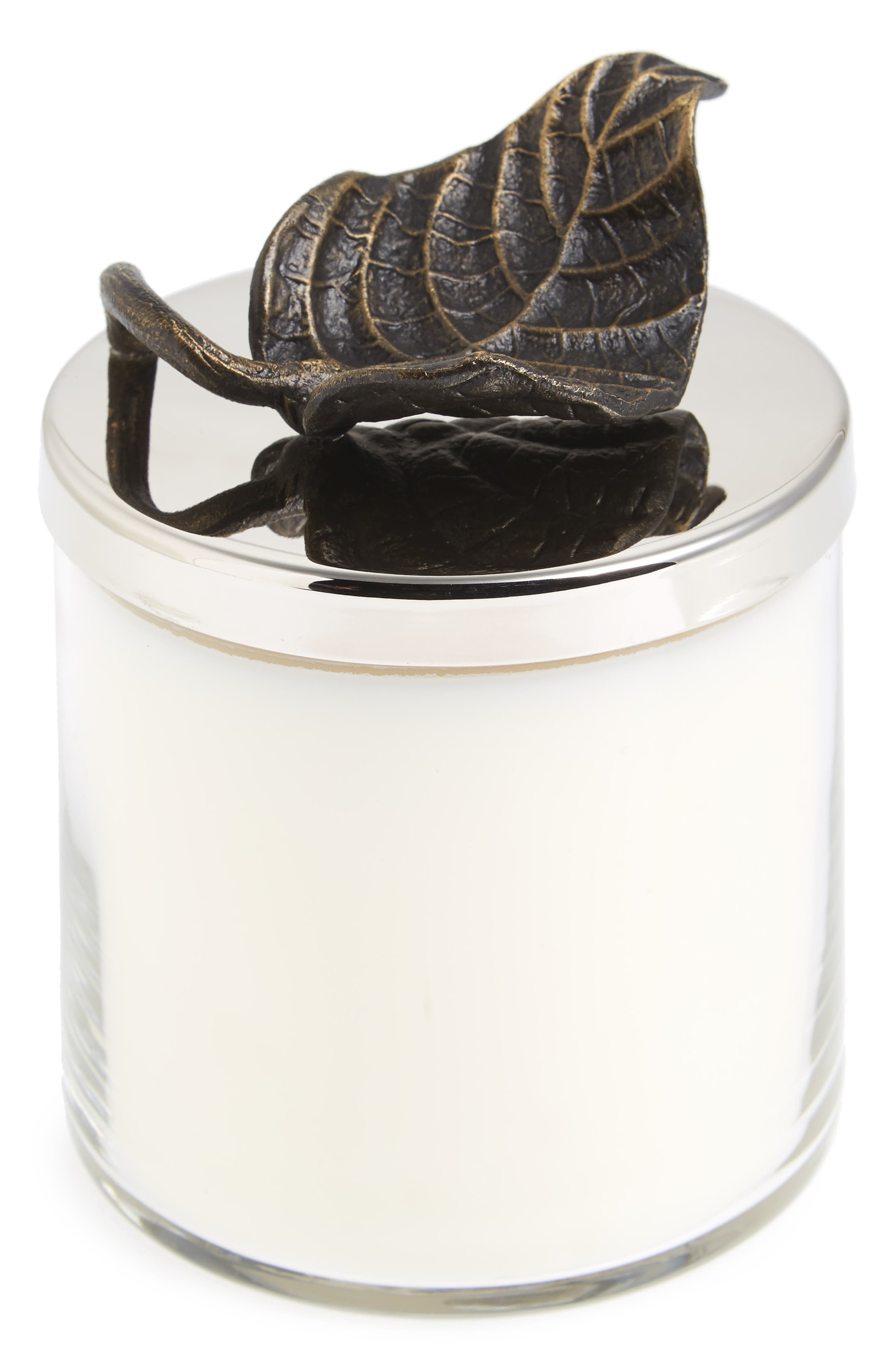 Rainforest Candle,                         Main,                         color, White