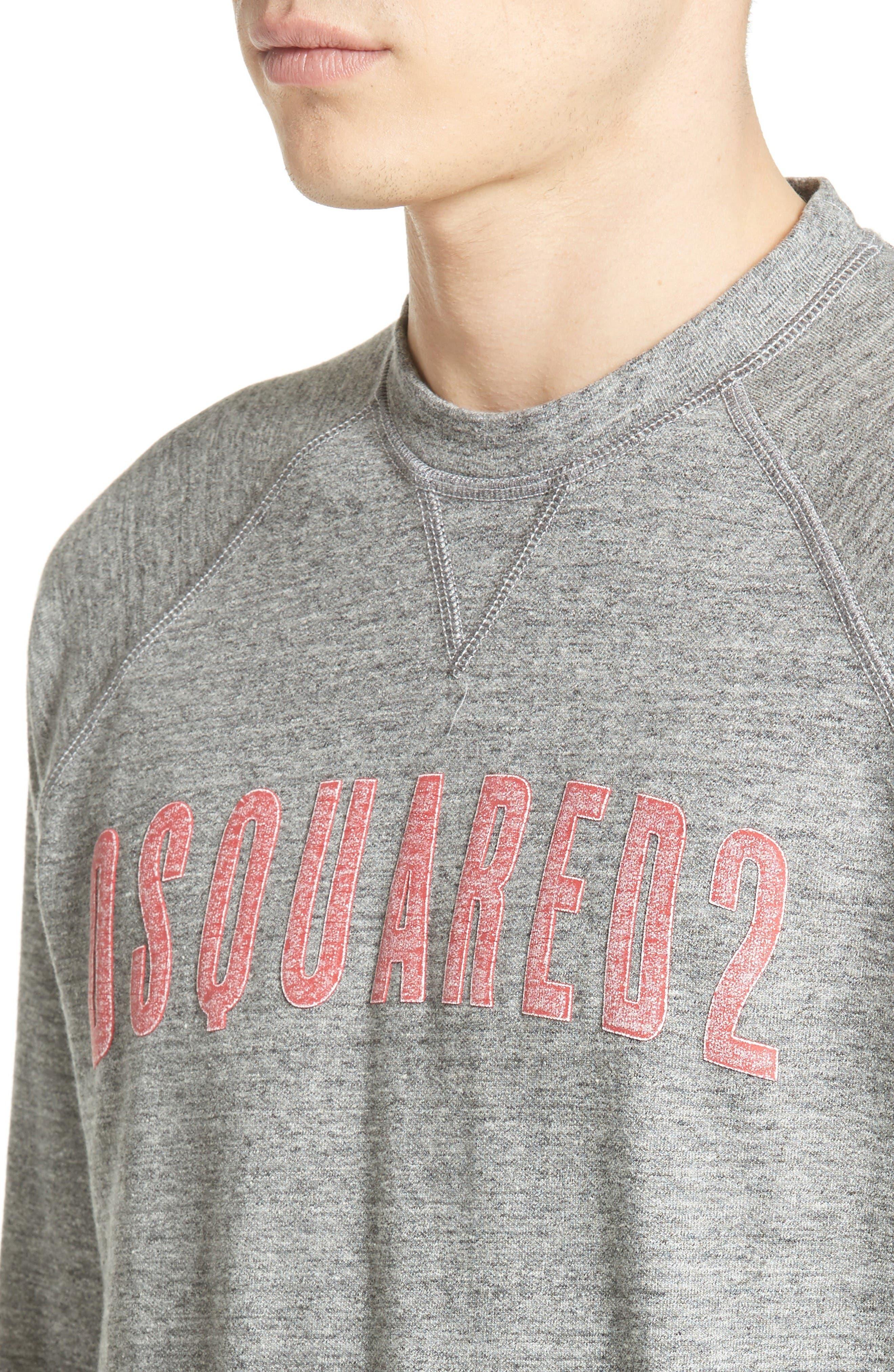 Alternate Image 4  - Dsquared2 Logo Graphic Sweatshirt