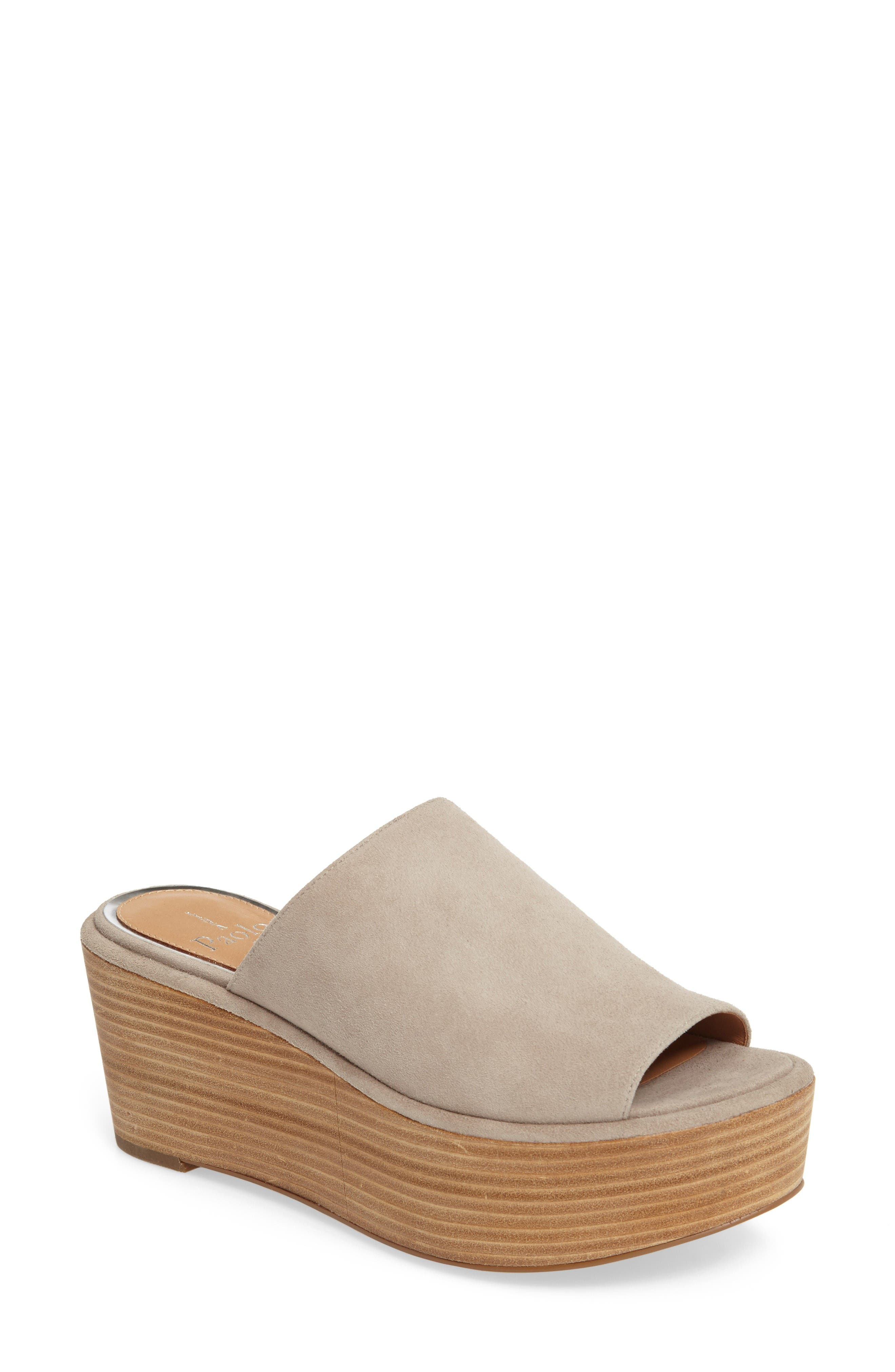 Linea Paolo Valley Platform Mule (Women)