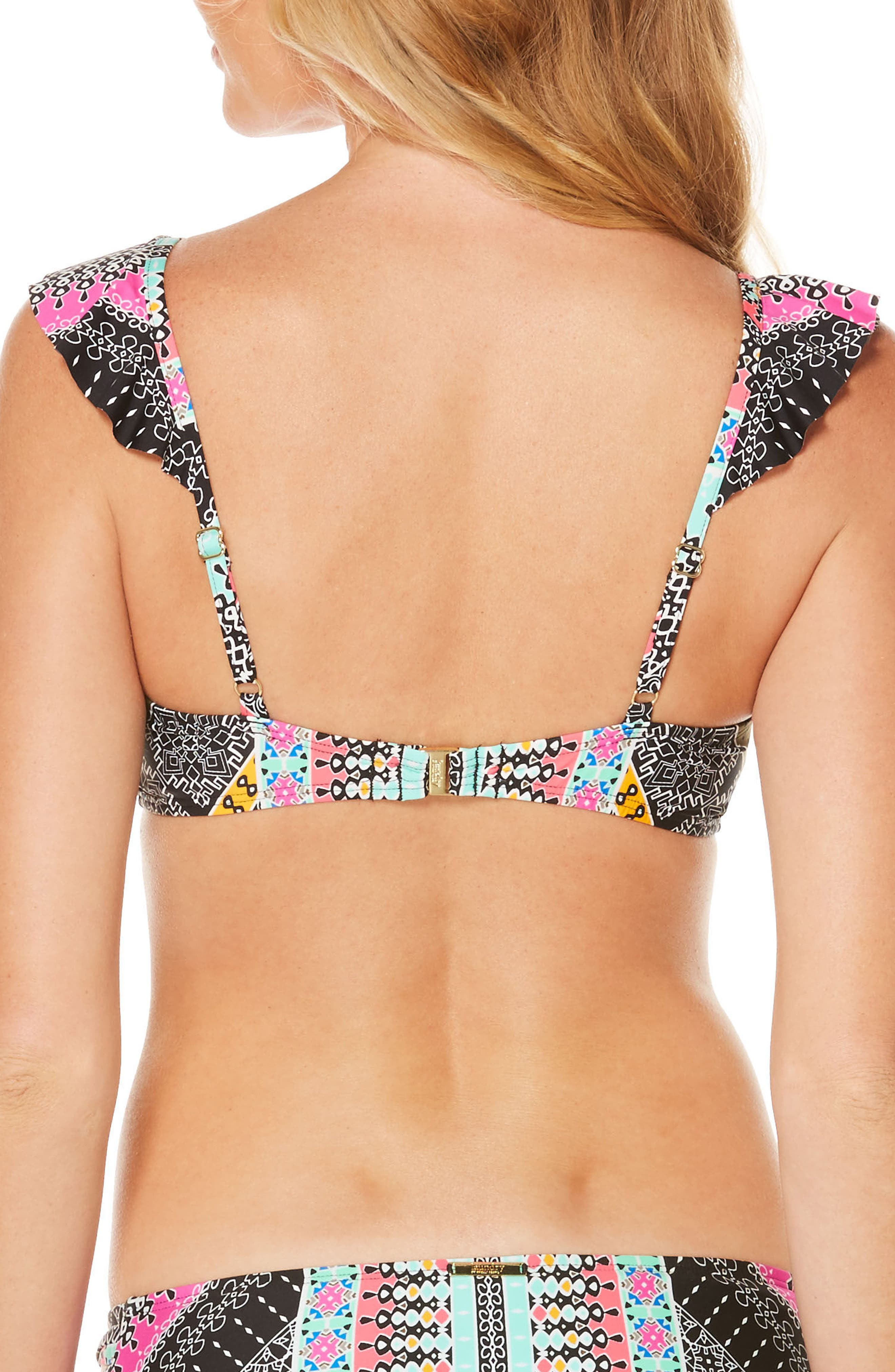 Alternate Image 2  - Laundry by Shelli Segal Underwire Bikini Top