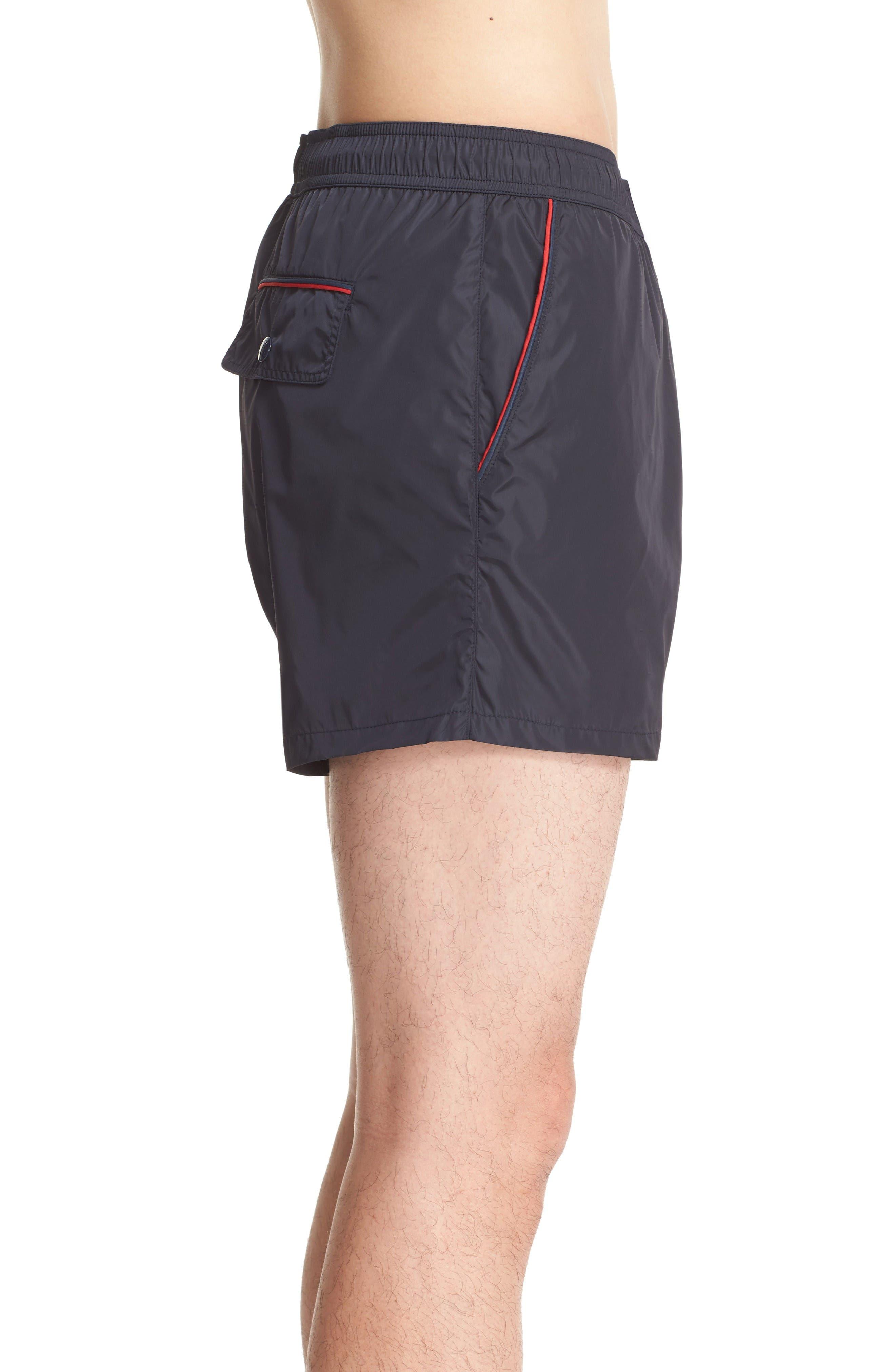 Alternate Image 3  - Moncler Piped Swim Trunks