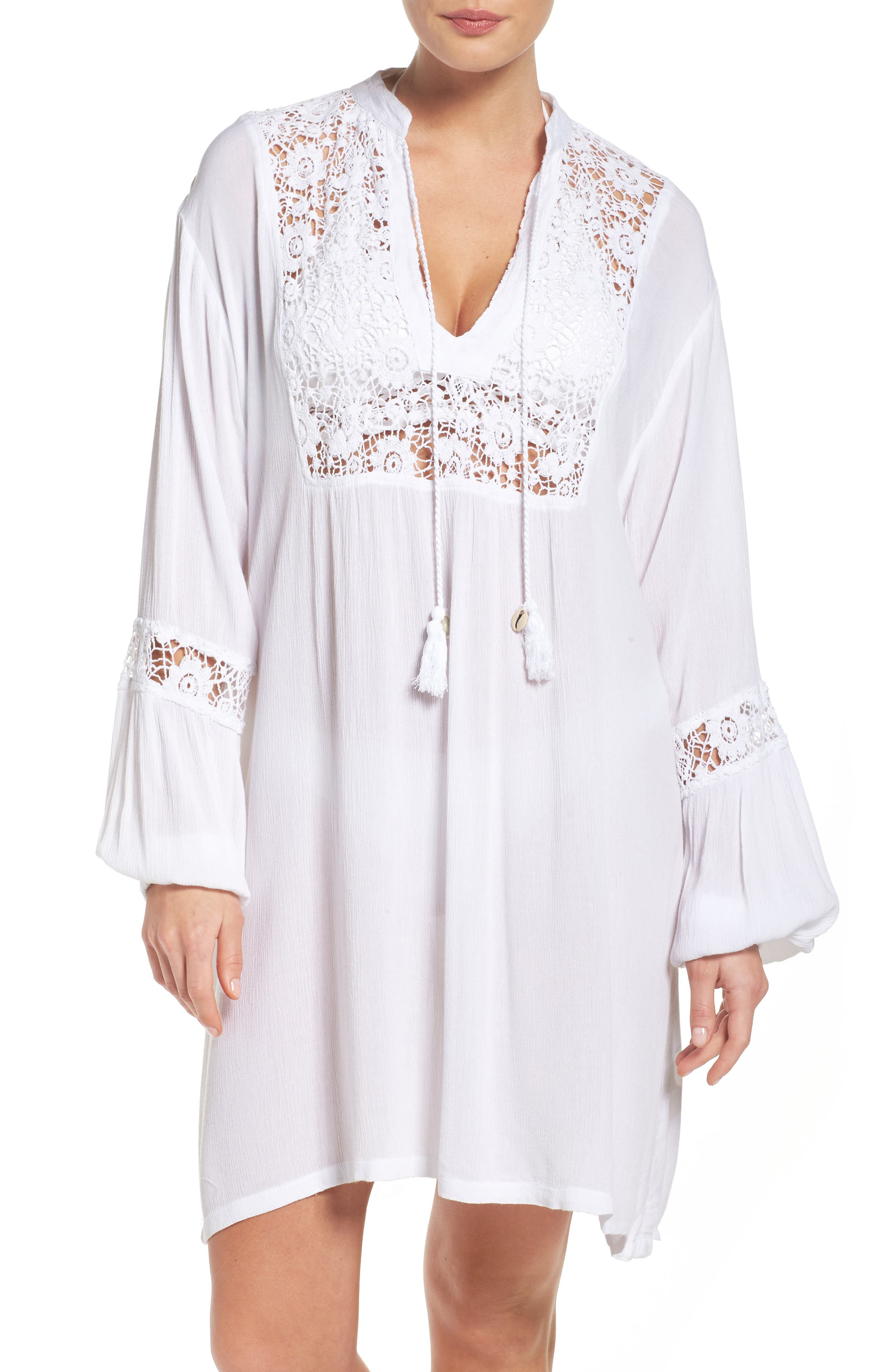 MUCHE ET MUCHETTE Journey Lace Cover-Up Tunic