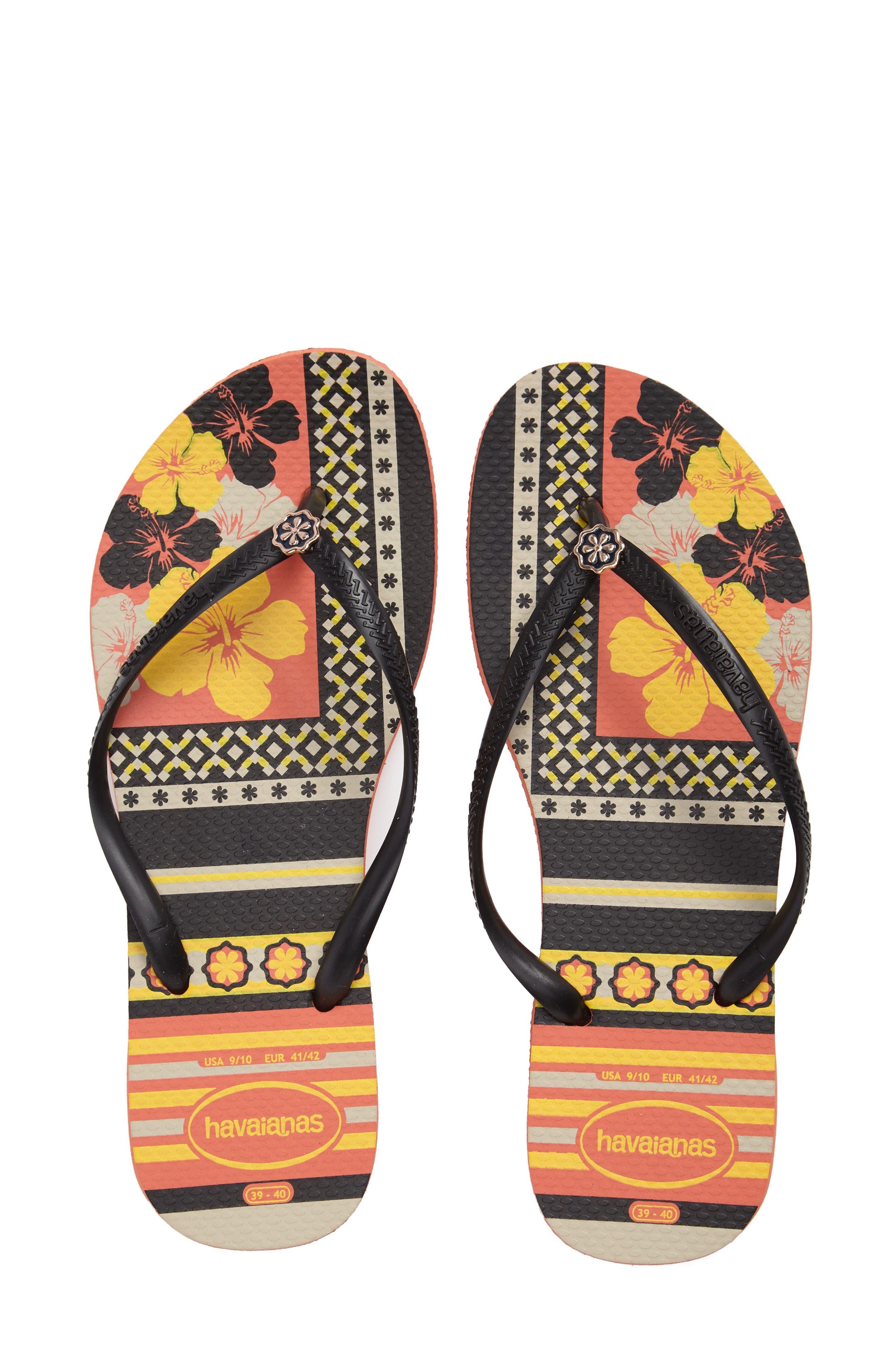 Alternate Image 1 Selected - Havaianas 'Slim Thematic' Flip Flop (Women)