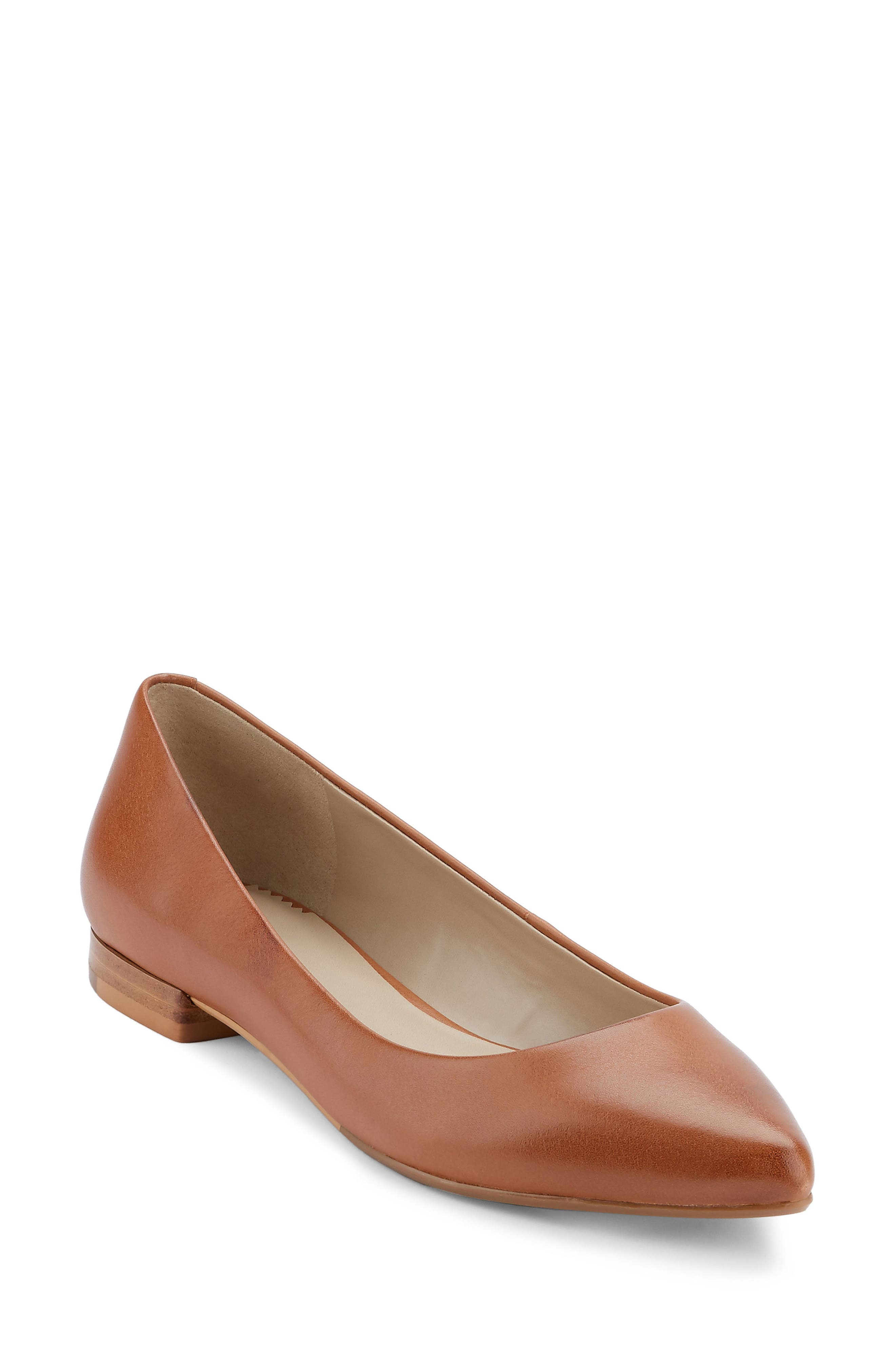 G.H. Bass & Co. Kayla Pointy Toe Flat (Women)