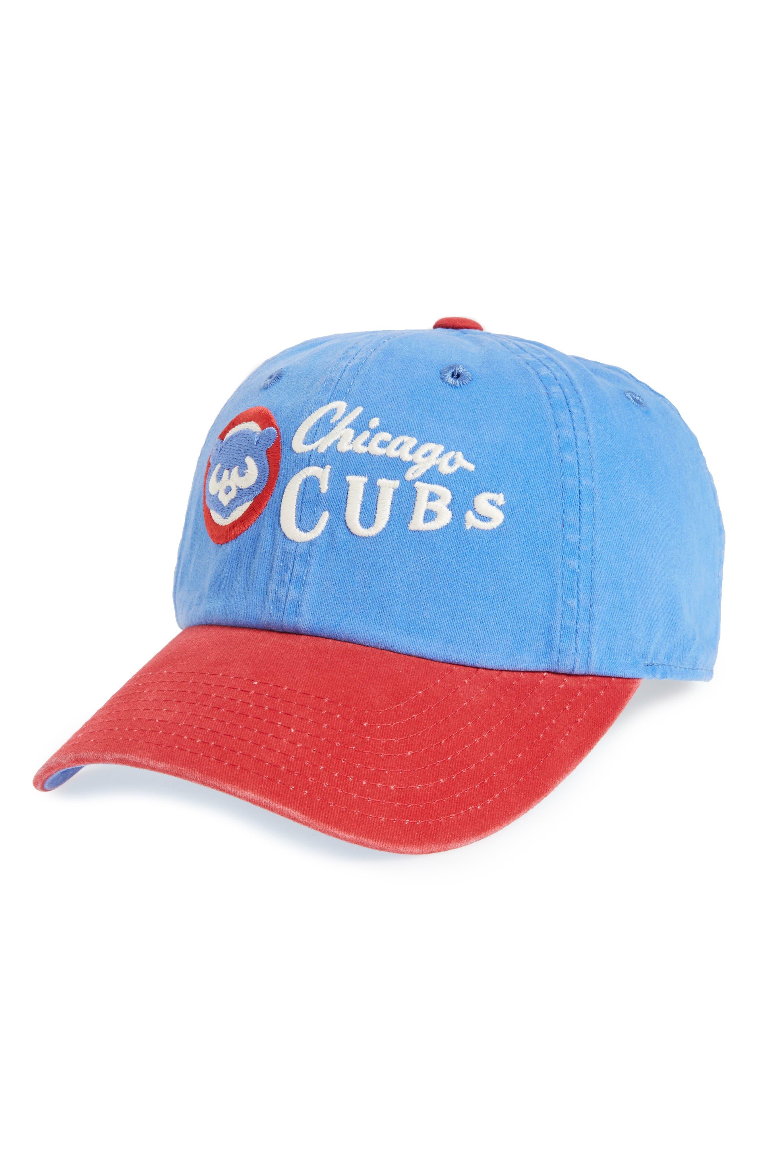 Dyer MLB Baseball Cap,                         Main,                         color, Cubs