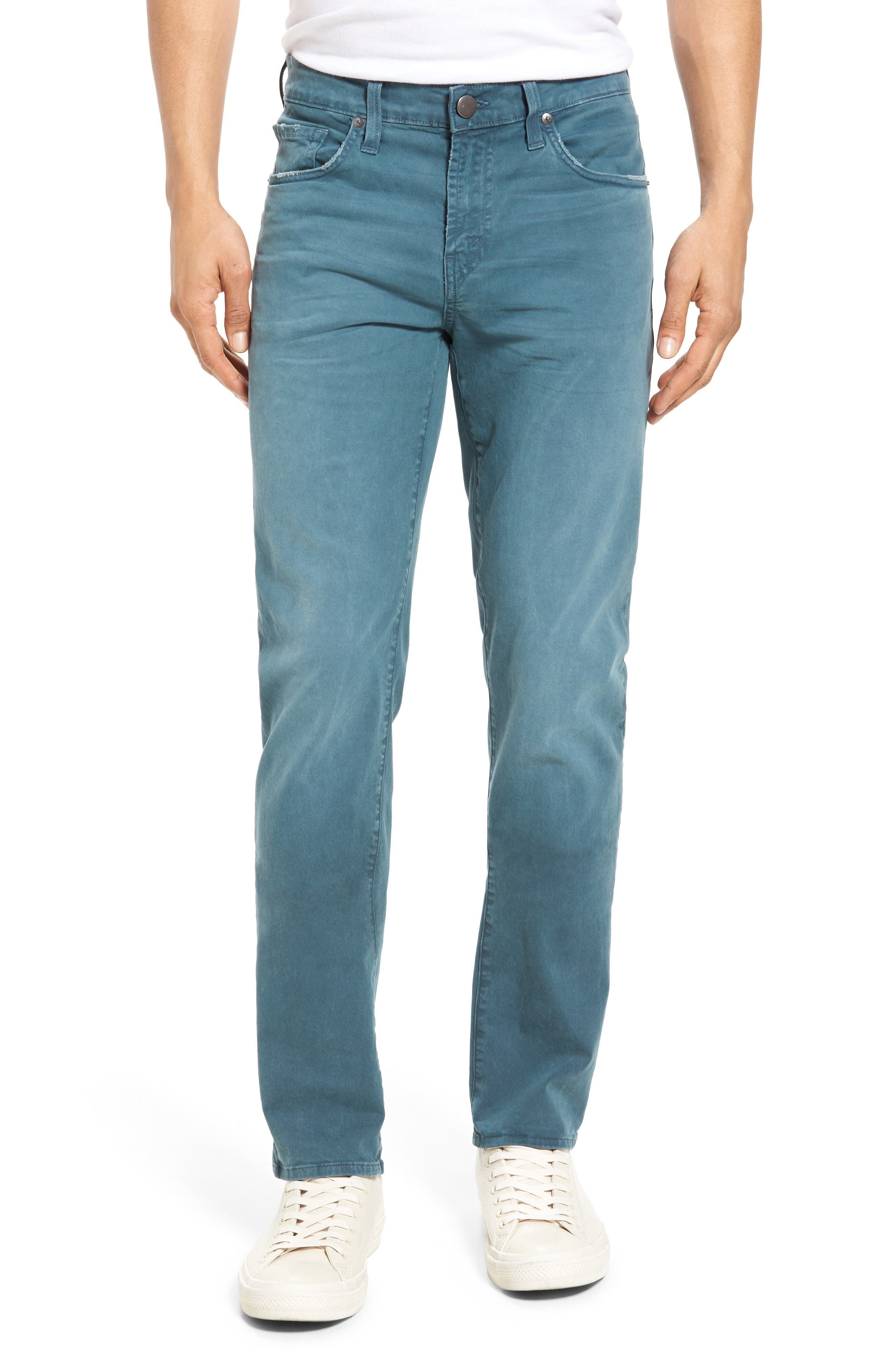Tyler Slim Fit Jeans,                         Main,                         color, Thrashed Space